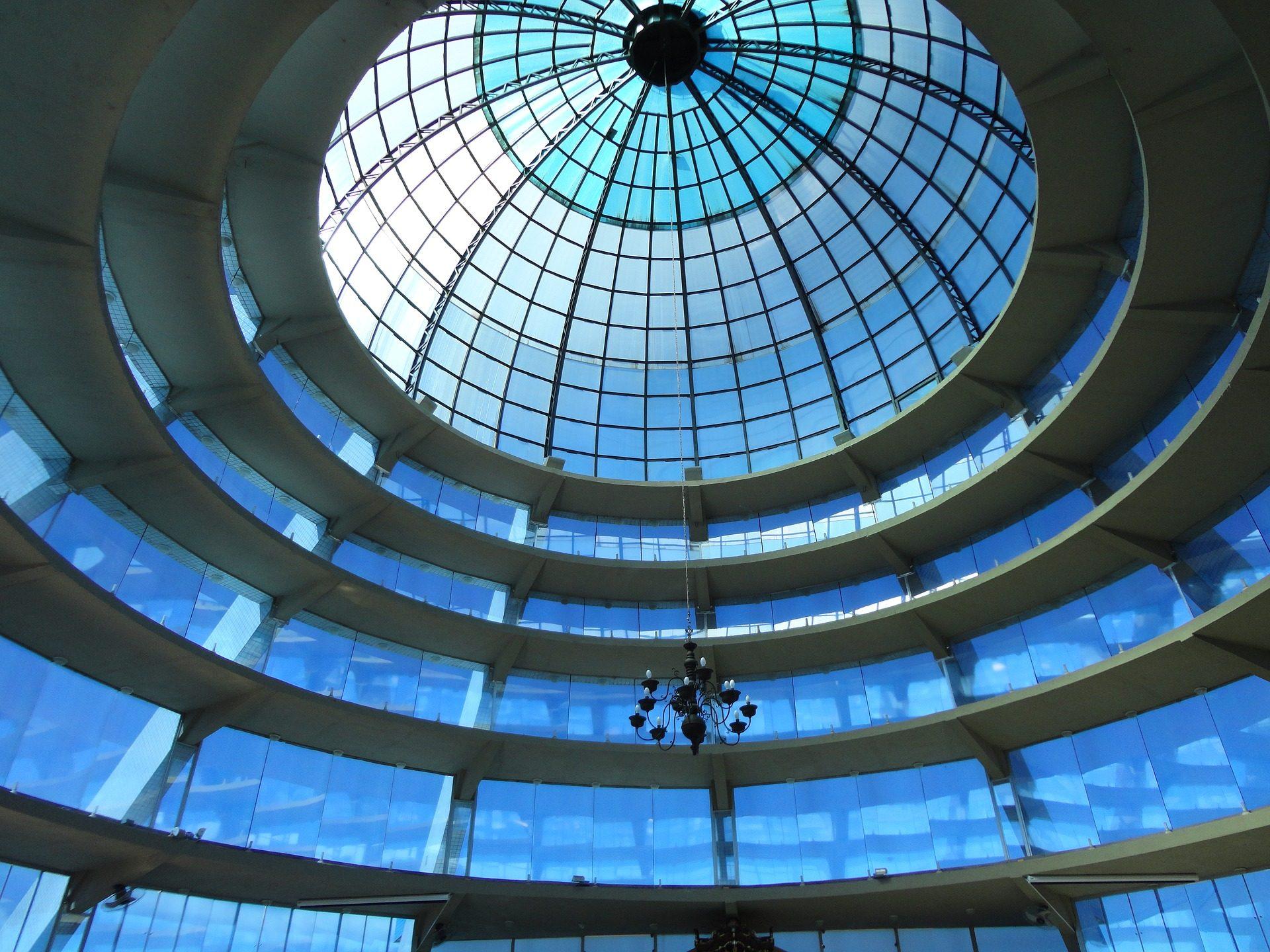 बिल्डिंग, क्रिस्टल, कोष्ठ, वास्तुकला, प्रकाश - HD वॉलपेपर - प्रोफेसर-falken.com