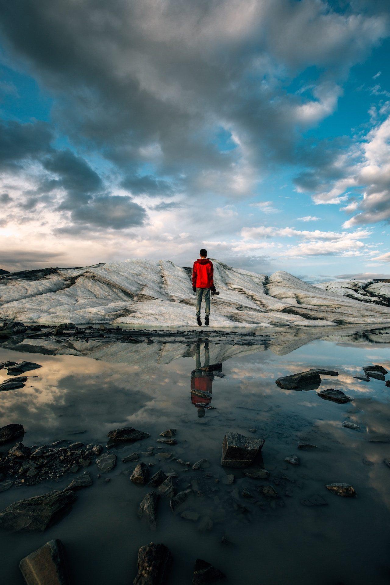 hombre, glaciar, hielo, nieve, agua, matanuska - Fondos de Pantalla HD - professor-falken.com