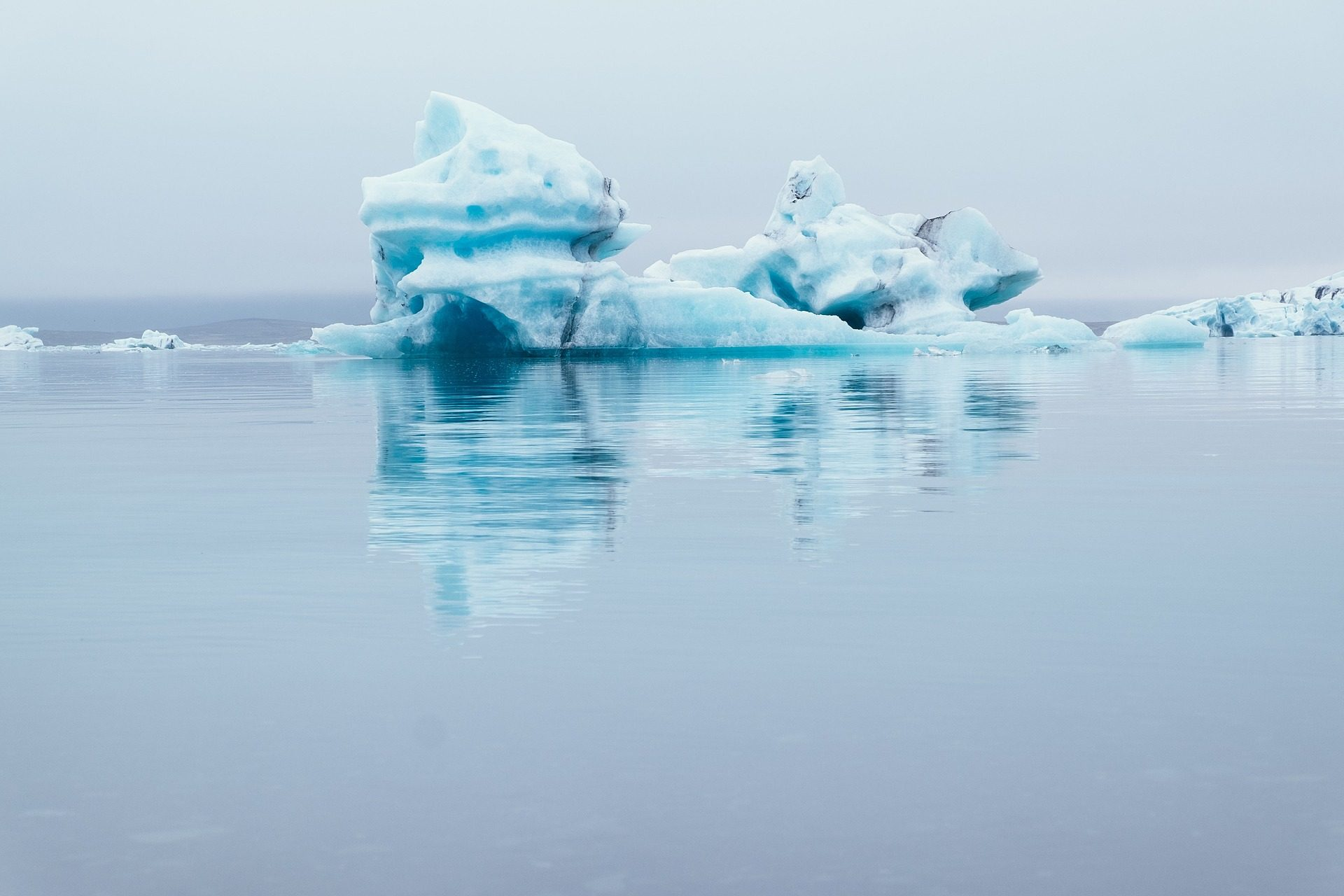 Айсберг, Море, лед, снег, Серенити - Обои HD - Профессор falken.com