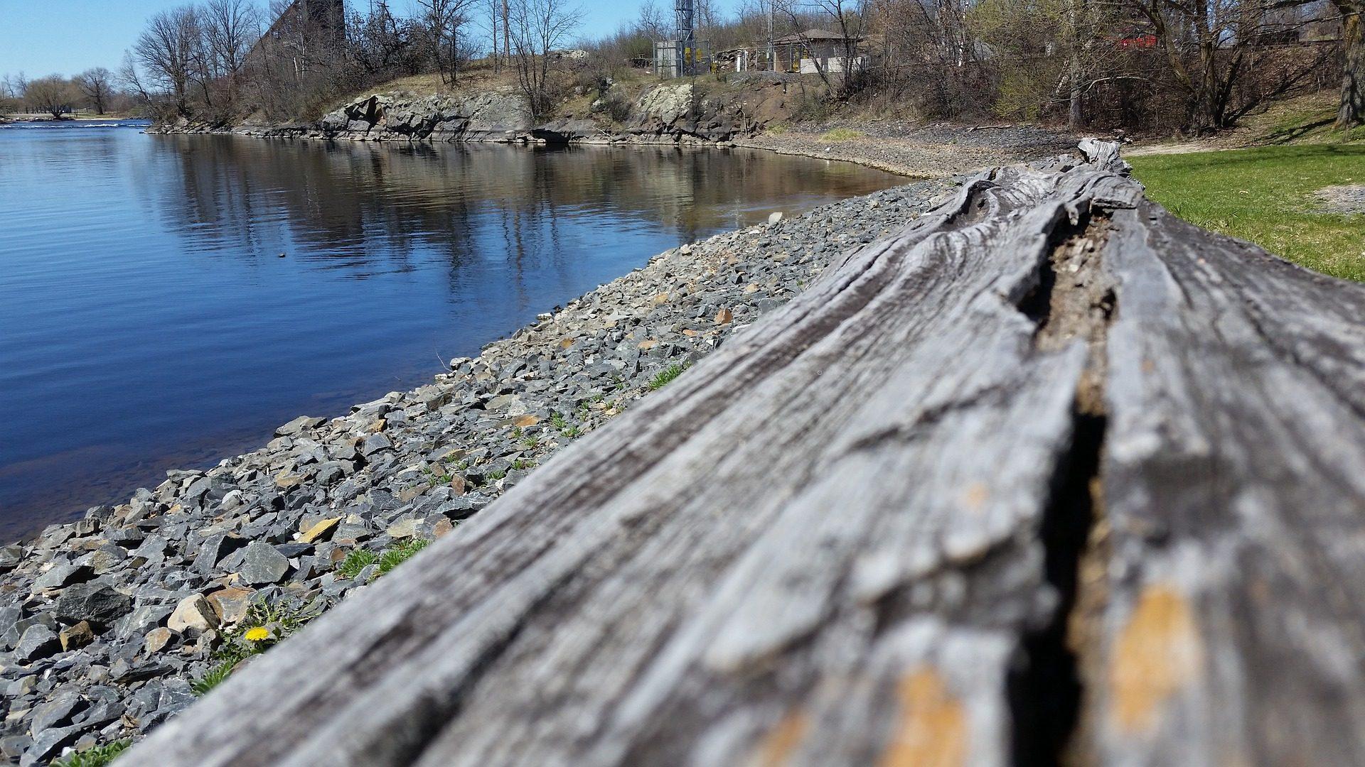 Lago, floresta, casas, madeira, pedras - Papéis de parede HD - Professor-falken.com