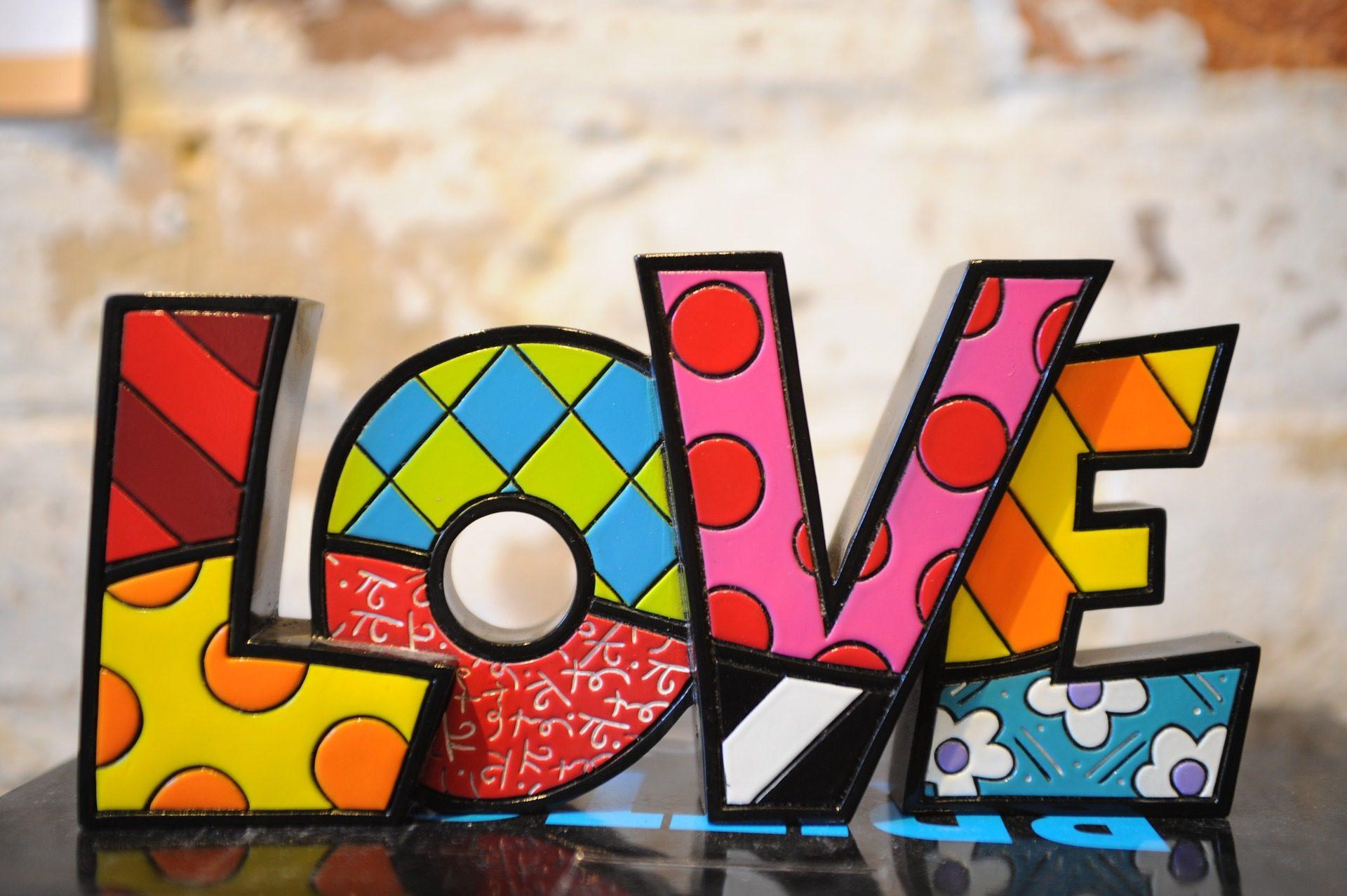 testi, colorato, Lunar, Stripes, fiori, amore - Sfondi HD - Professor-falken.com
