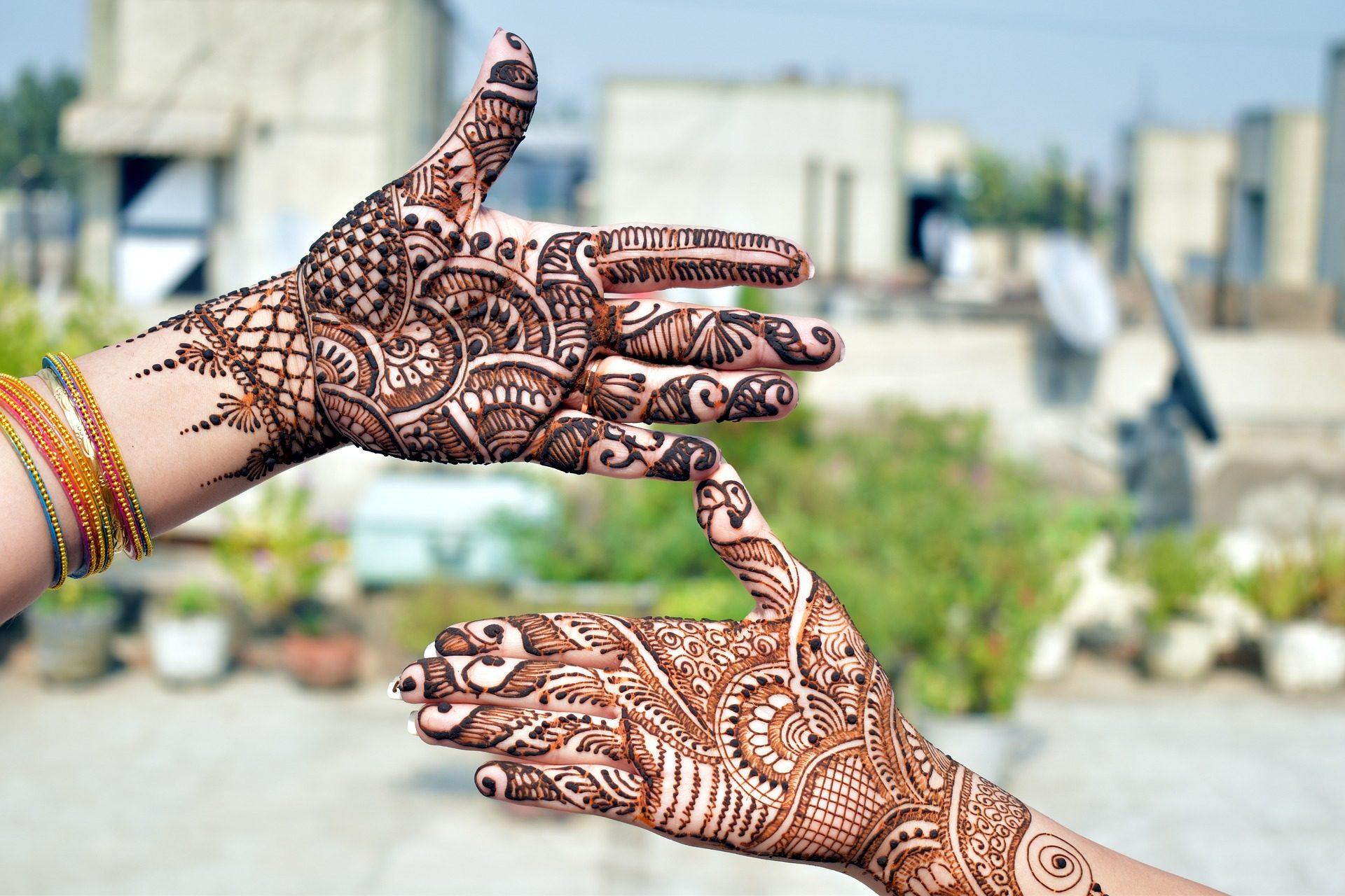 mani, tatuaggi, dipinti, Mehndi, hennè, tinta - Sfondi HD - Professor-falken.com