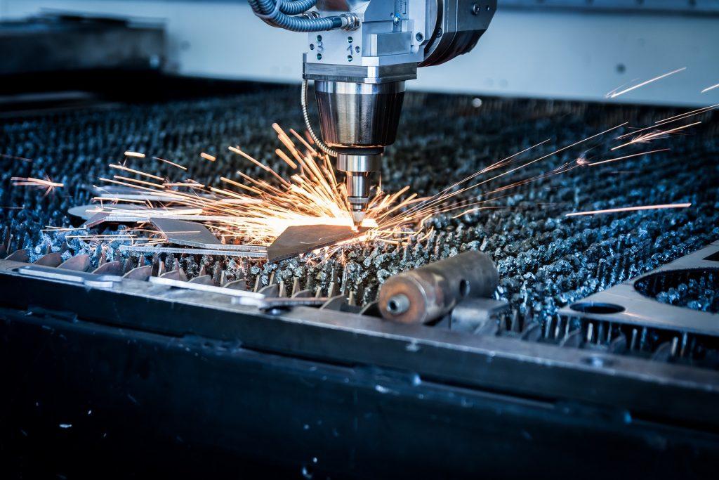 máquina, laser, Tribunal, Sparks, metal, plasma, 1711182155