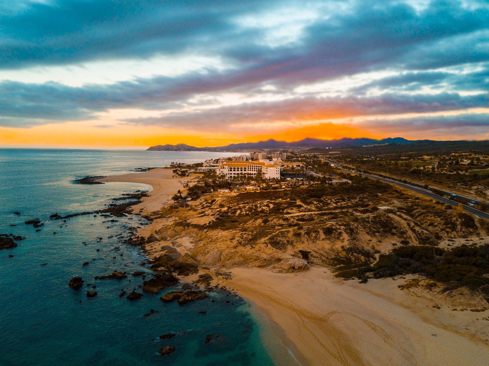 mar, costa, playa, pueblo, cielo, nublado - Fondos de Pantalla HD - professor-falken.com