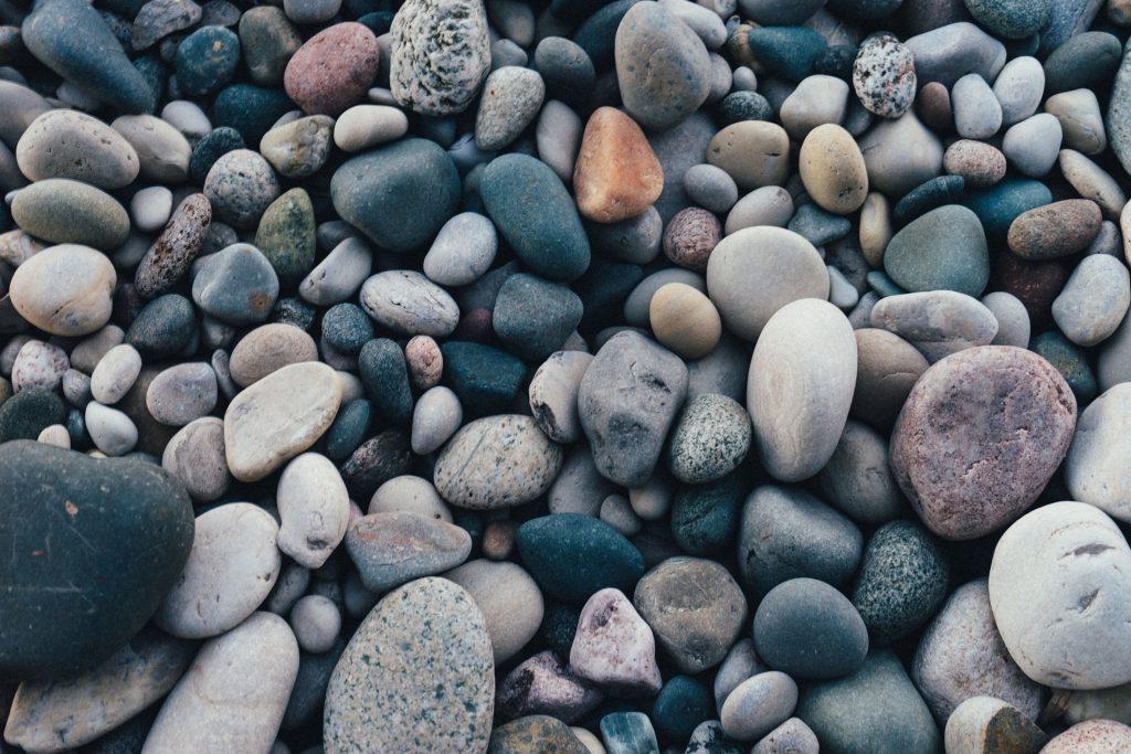 piedras, rocas, diversidad, colores, cantos, 1711252054