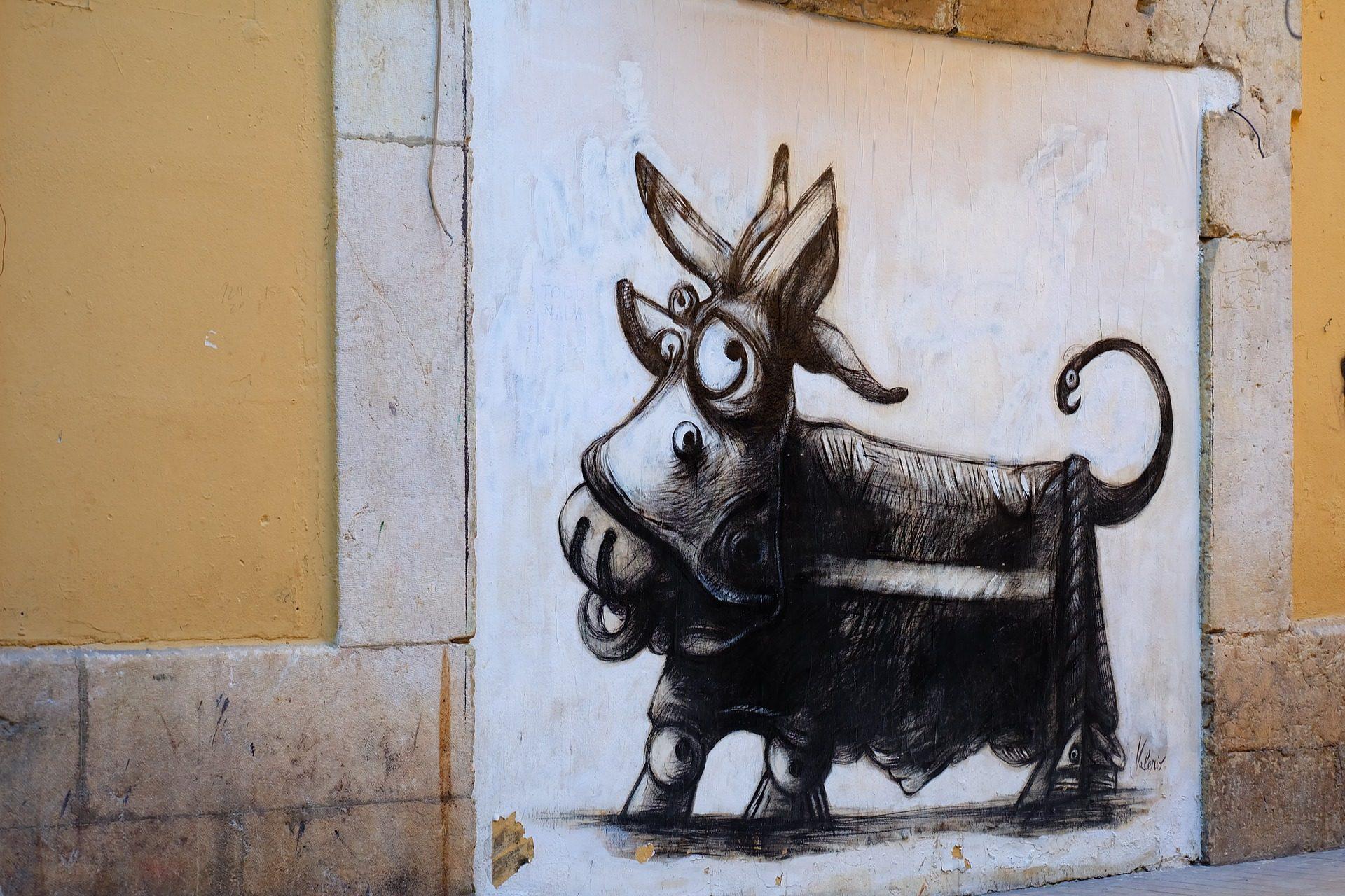 चित्रकारी, कला, शहरी, दीवार, पशु - HD वॉलपेपर - प्रोफेसर-falken.com