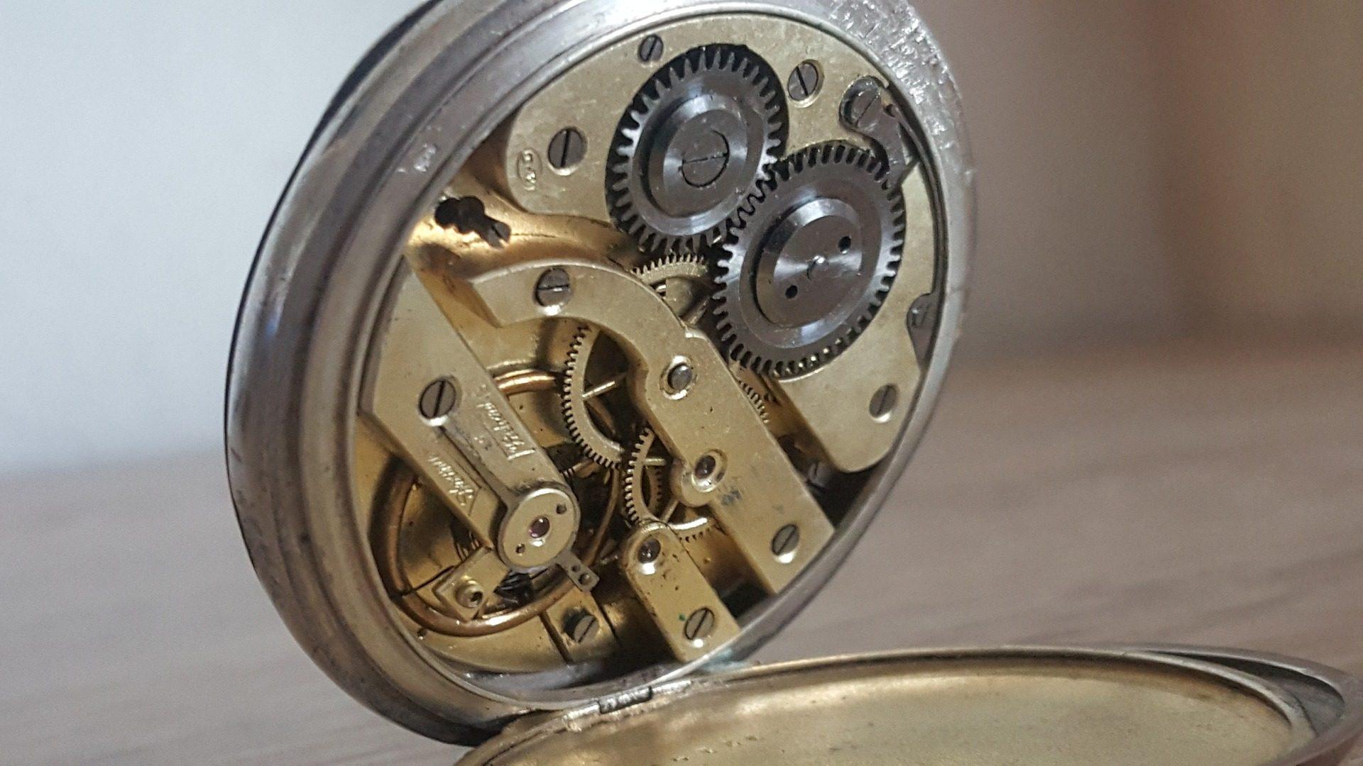 Orologio, tempo, meccanismo di, Ingranaggi, metallo - Sfondi HD - Professor-falken.com