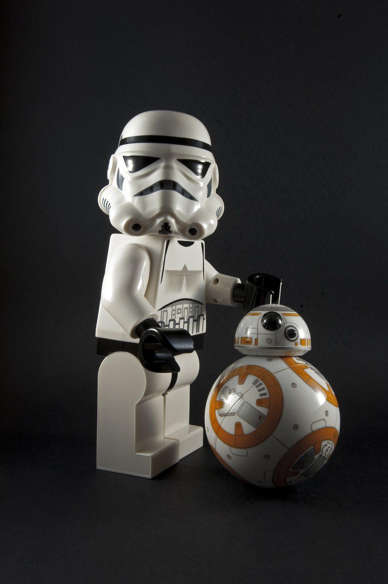 στρατιώτης, Imperial, ρομπότ, bb8, Star wars, κούκλες, αριθμοί - Wallpapers HD - Professor-falken.com