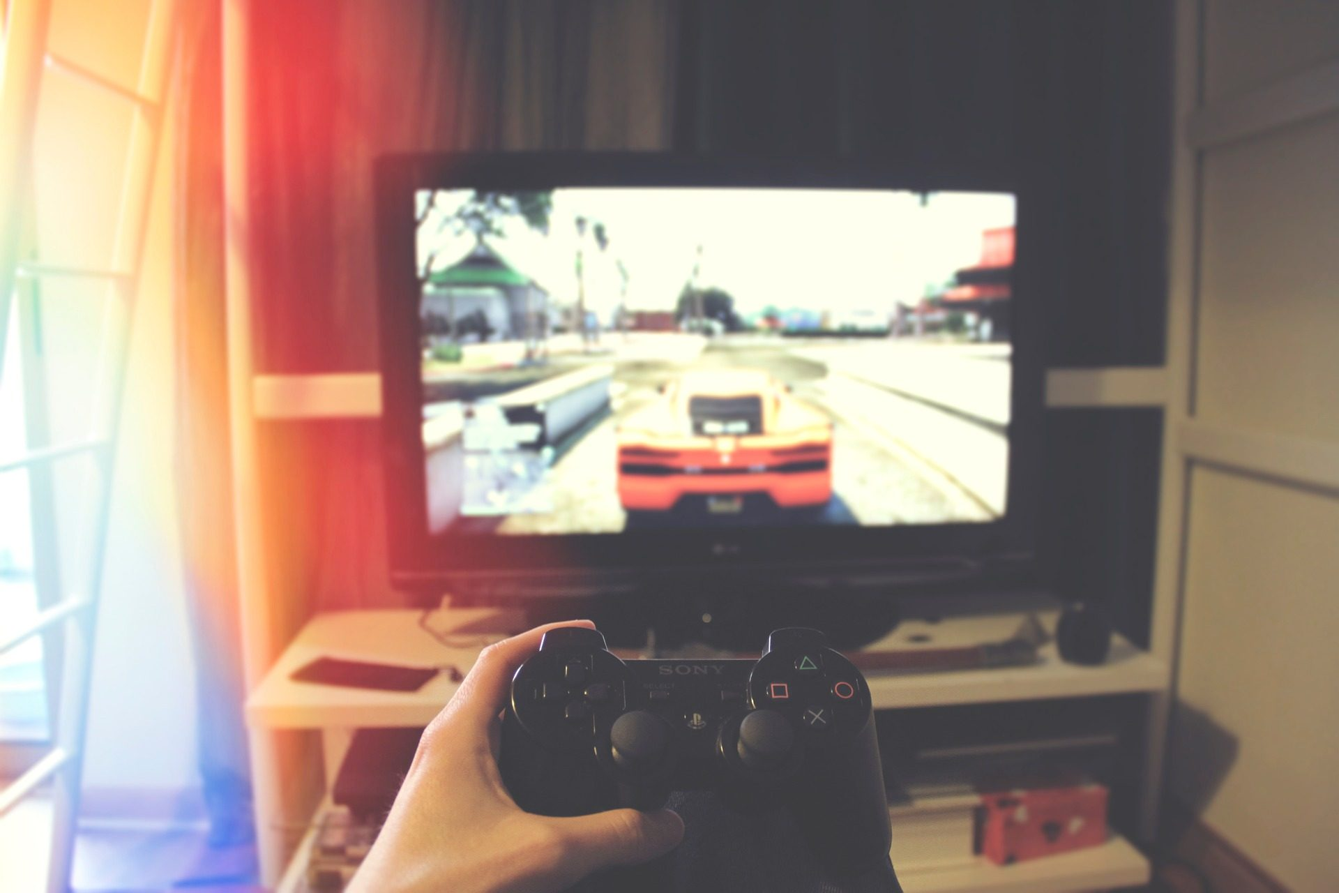 TV, Console, video gioco, controllo remoto, mano, PlayStation - Sfondi HD - Professor-falken.com