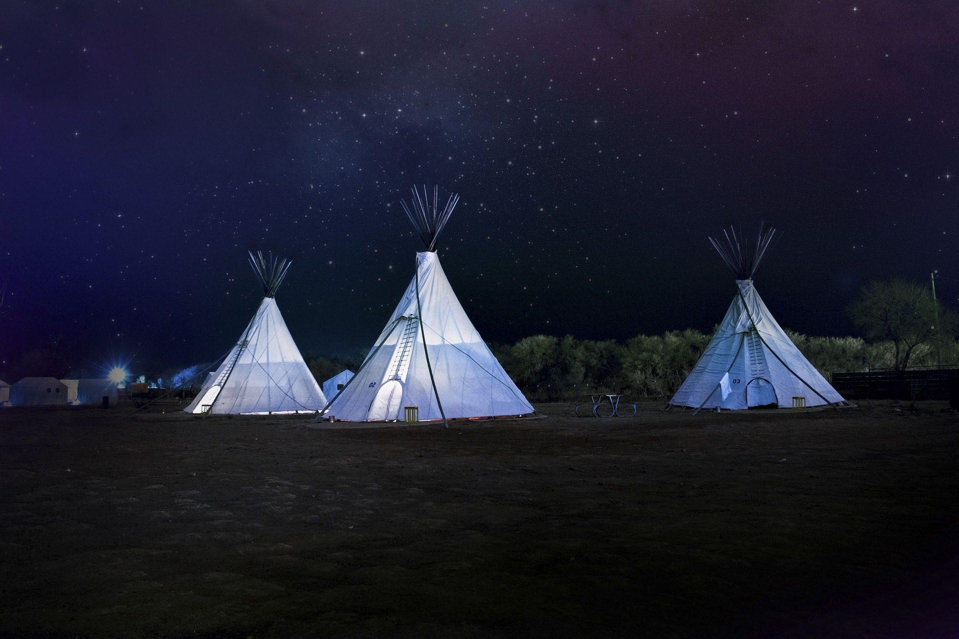 lojas, Acampar, floresta, campo, à noite, Estrela, Céu - Papéis de parede HD - Professor-falken.com
