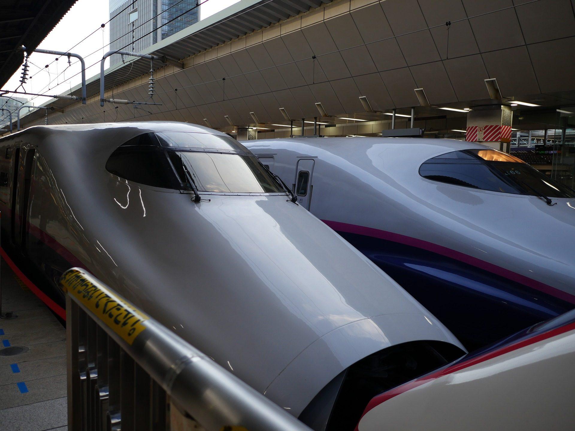 τρένα, κουκκίδα, Σταθμός, μελλοντικές, Τόκιο - Wallpapers HD - Professor-falken.com
