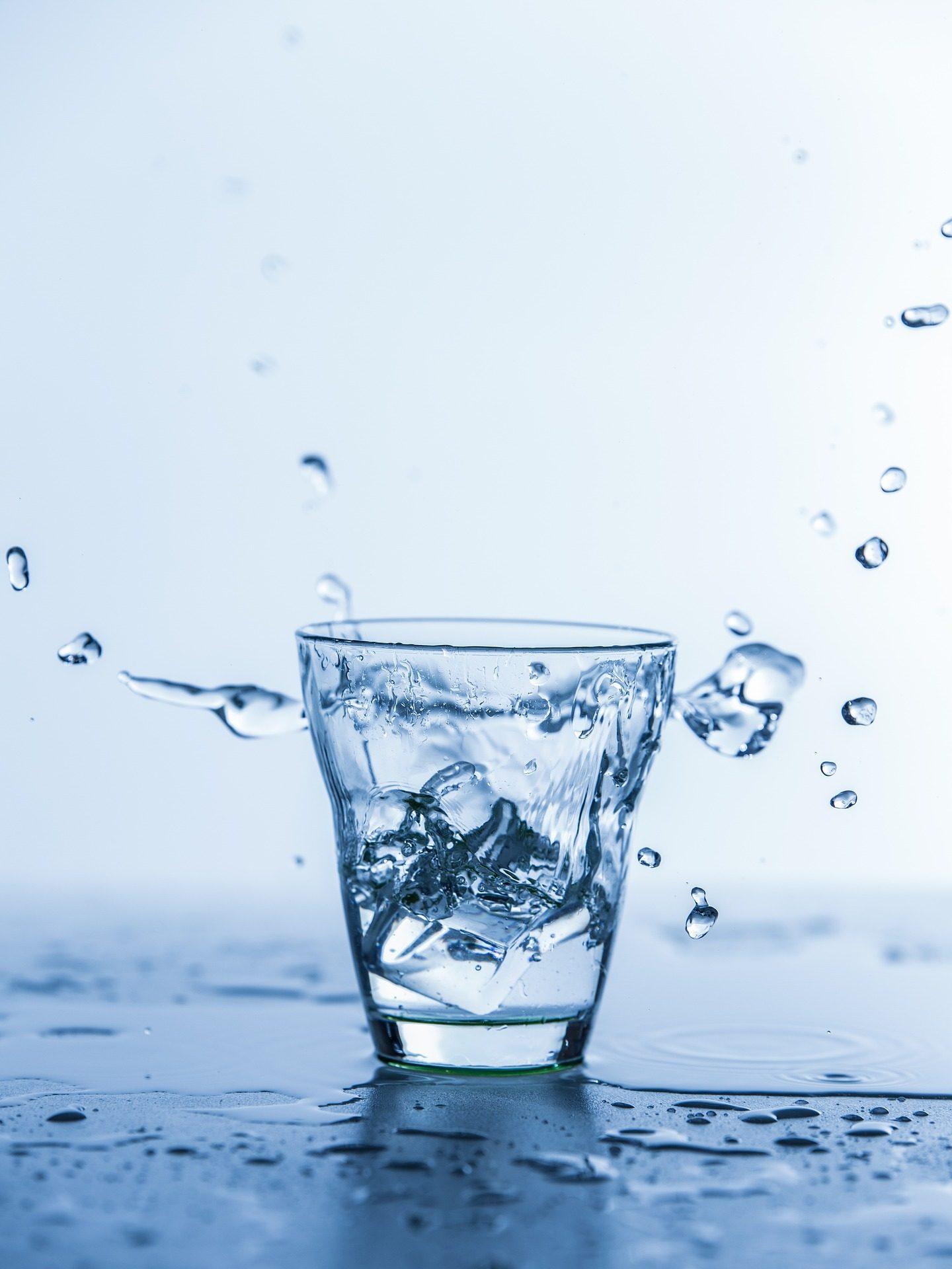 玻璃, 水, 冰, 滴眼液, 飞溅, 湿法 - 高清壁纸 - 教授-falken.com