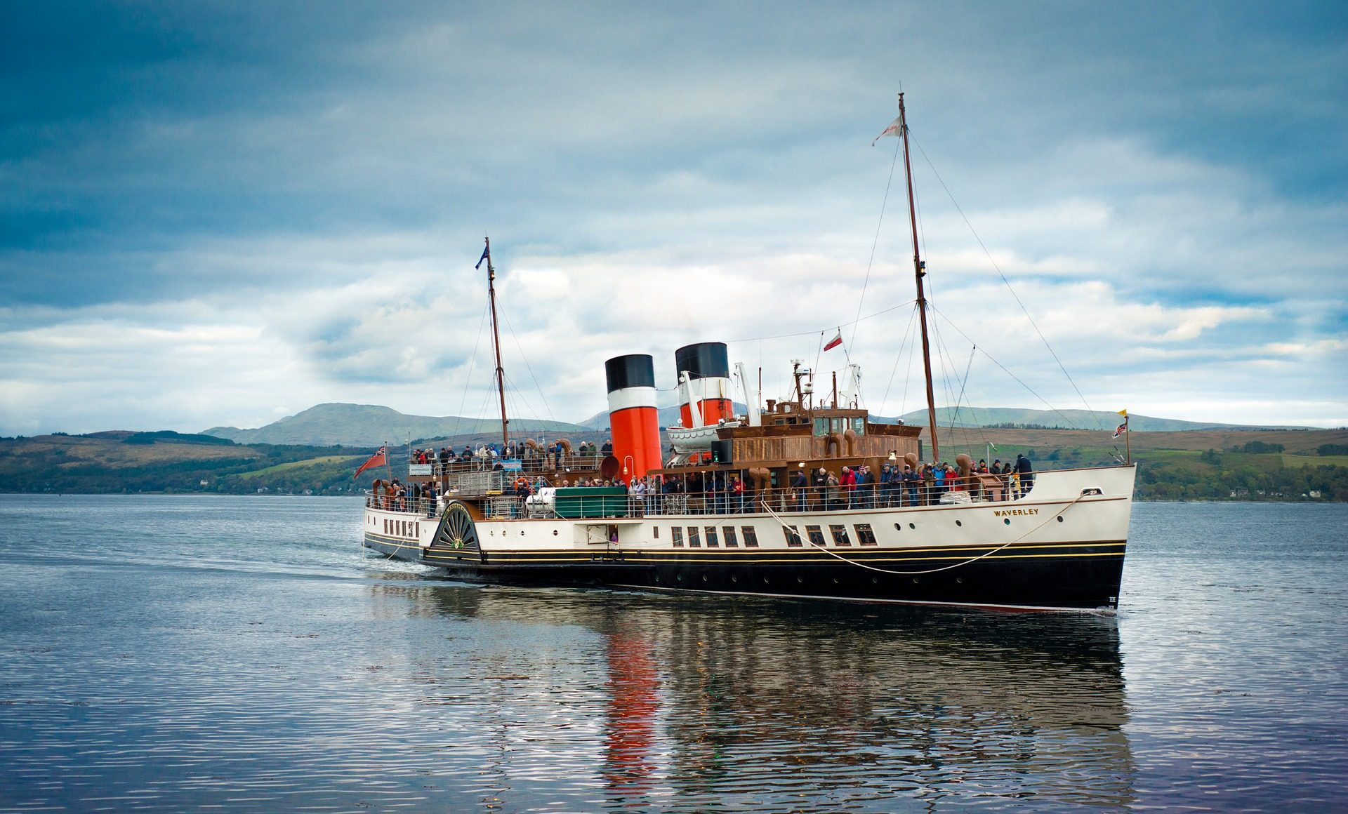 βάρκα, πλοίο, Τζάκια, άτομα, Σκωτία - Wallpapers HD - Professor-falken.com