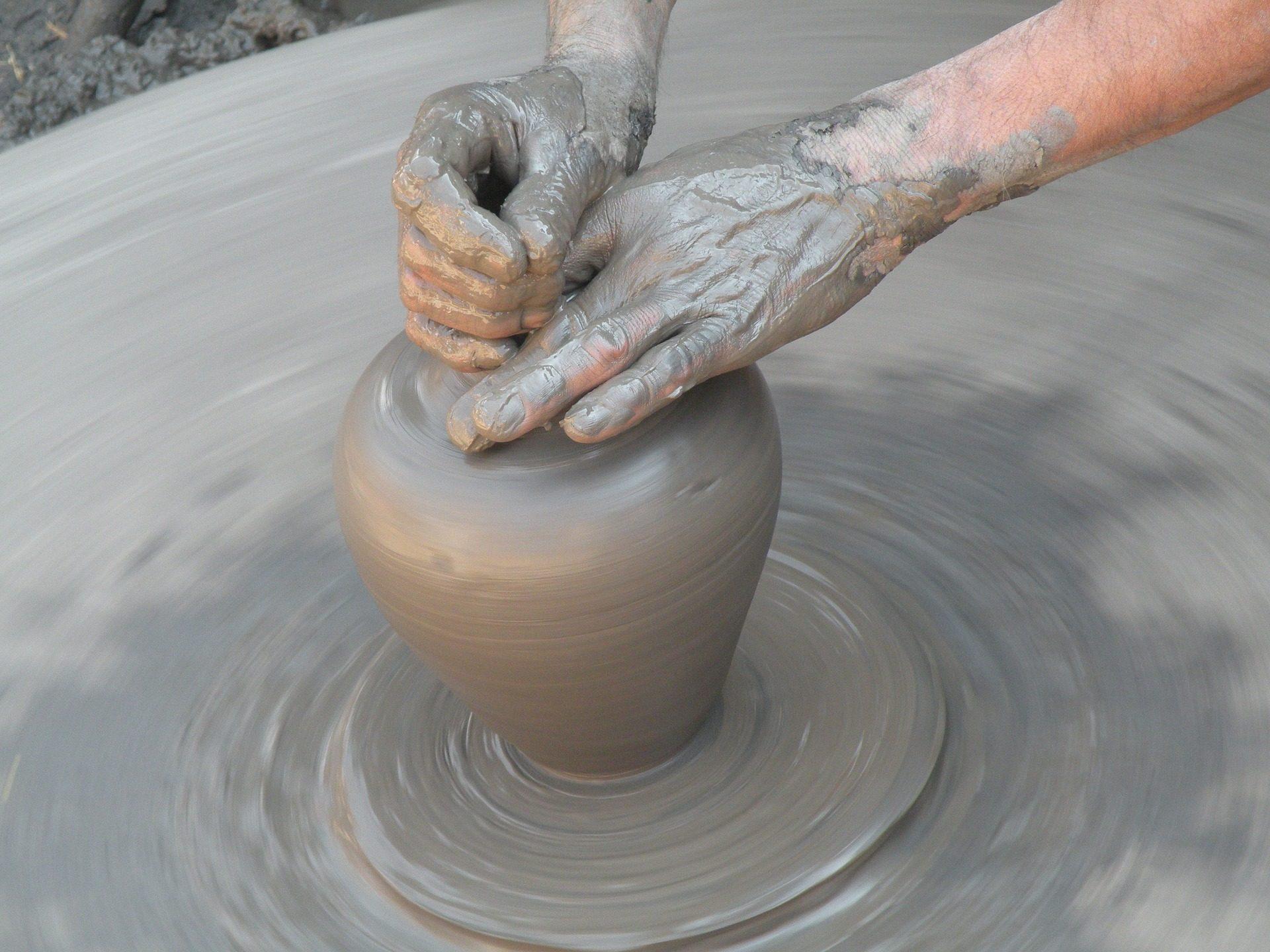 boue, argile, tour, Potter, mains - Fonds d'écran HD - Professor-falken.com