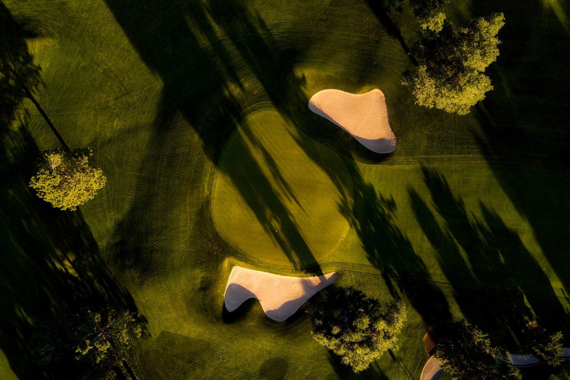 campo, Golf, grama, verde, poço, bunker, areia - Papéis de parede HD - Professor-falken.com