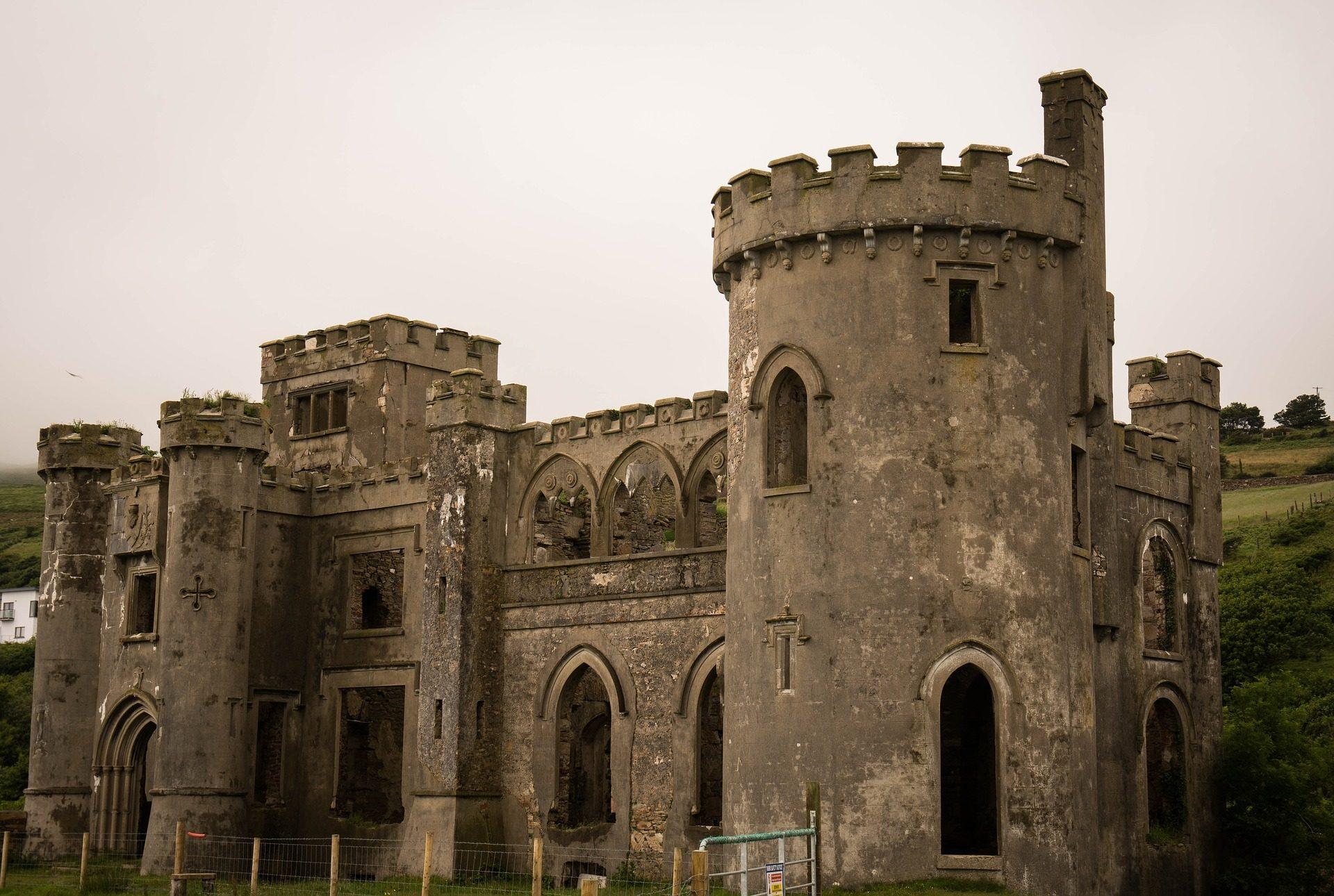 Κάστρο, μεσαιωνική, Τόρες, παλιά, ερείπια - Wallpapers HD - Professor-falken.com