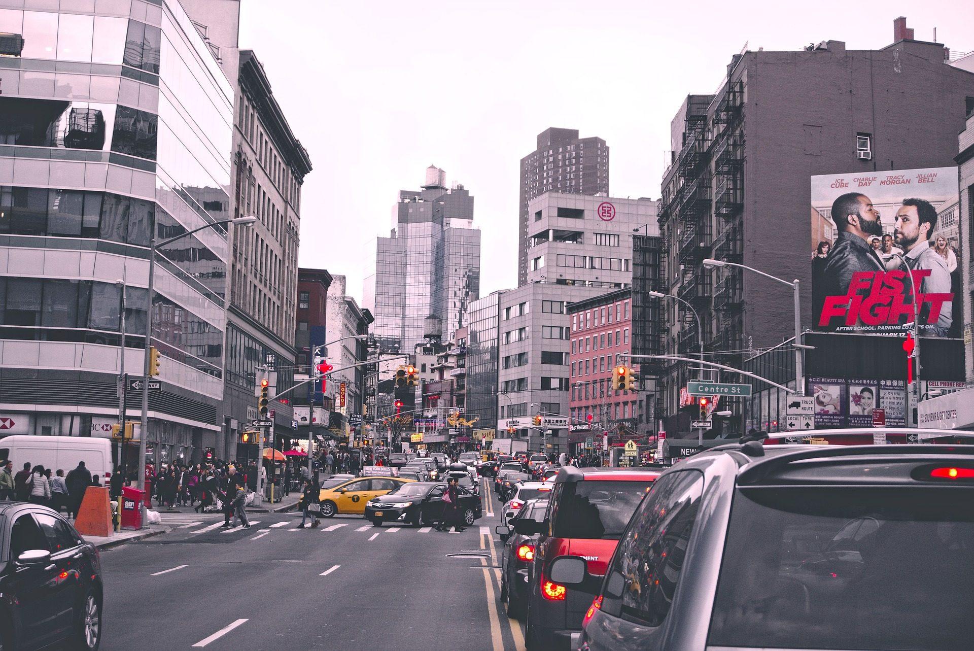 城市, 建筑, 交通, 人, 集聚, ajetreo - 高清壁纸 - 教授-falken.com