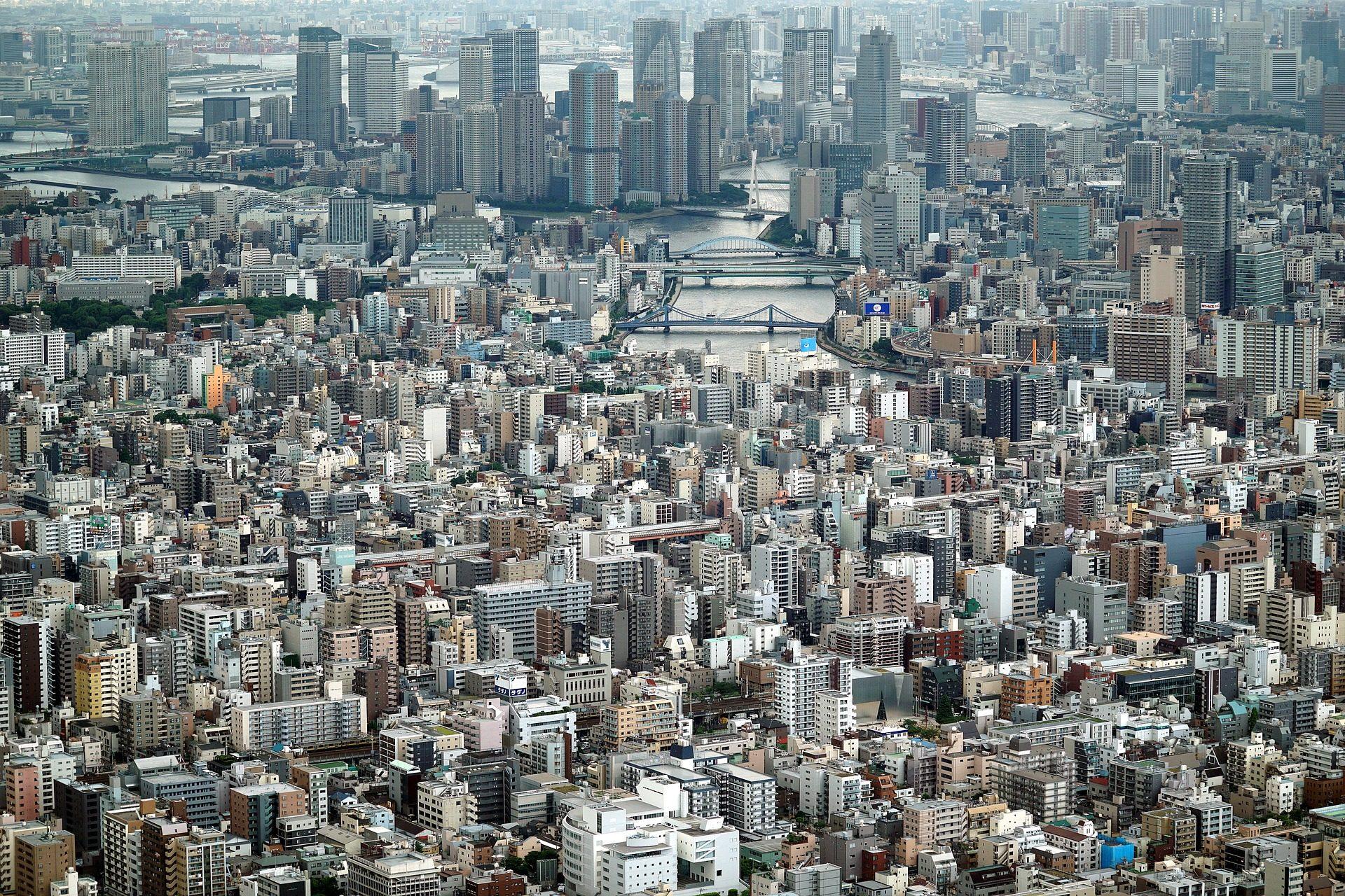城市, 都市, 建筑, 摩天大楼, 集聚, 人口过剩 - 高清壁纸 - 教授-falken.com