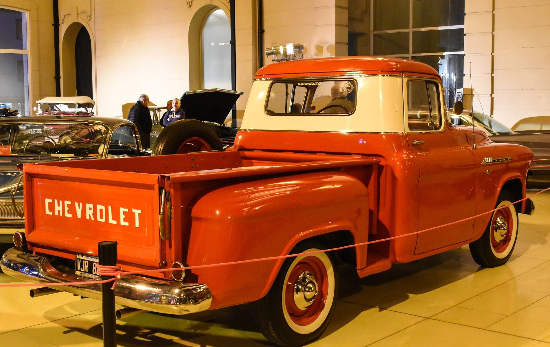 سيارات, شاحنة, القديمة, كلاسيك, خمر, شيفروليه - خلفيات عالية الدقة - أستاذ falken.com