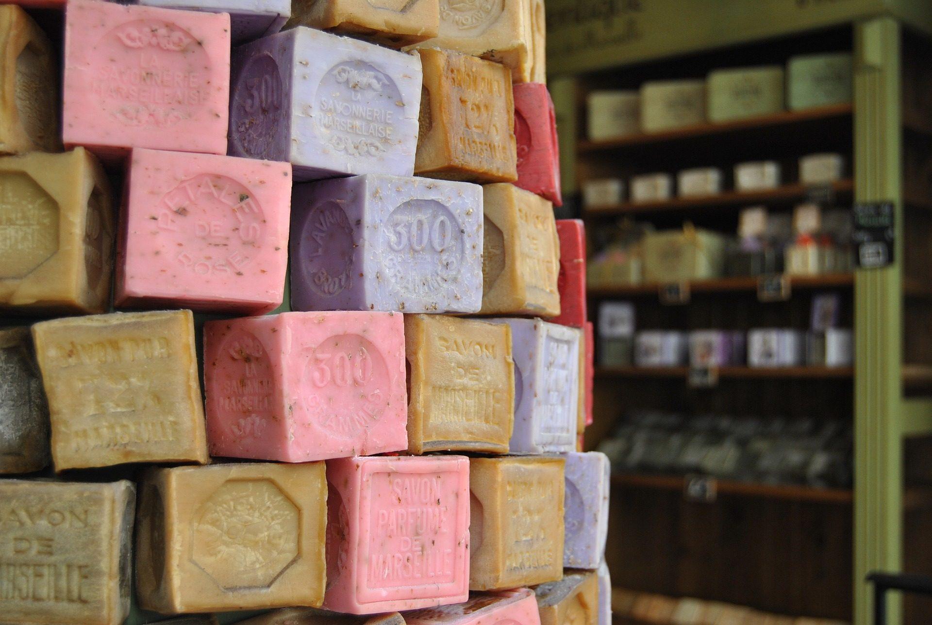 مكعبات, الألوان, صابون, متجر, مرسيليا - خلفيات عالية الدقة - أستاذ falken.com