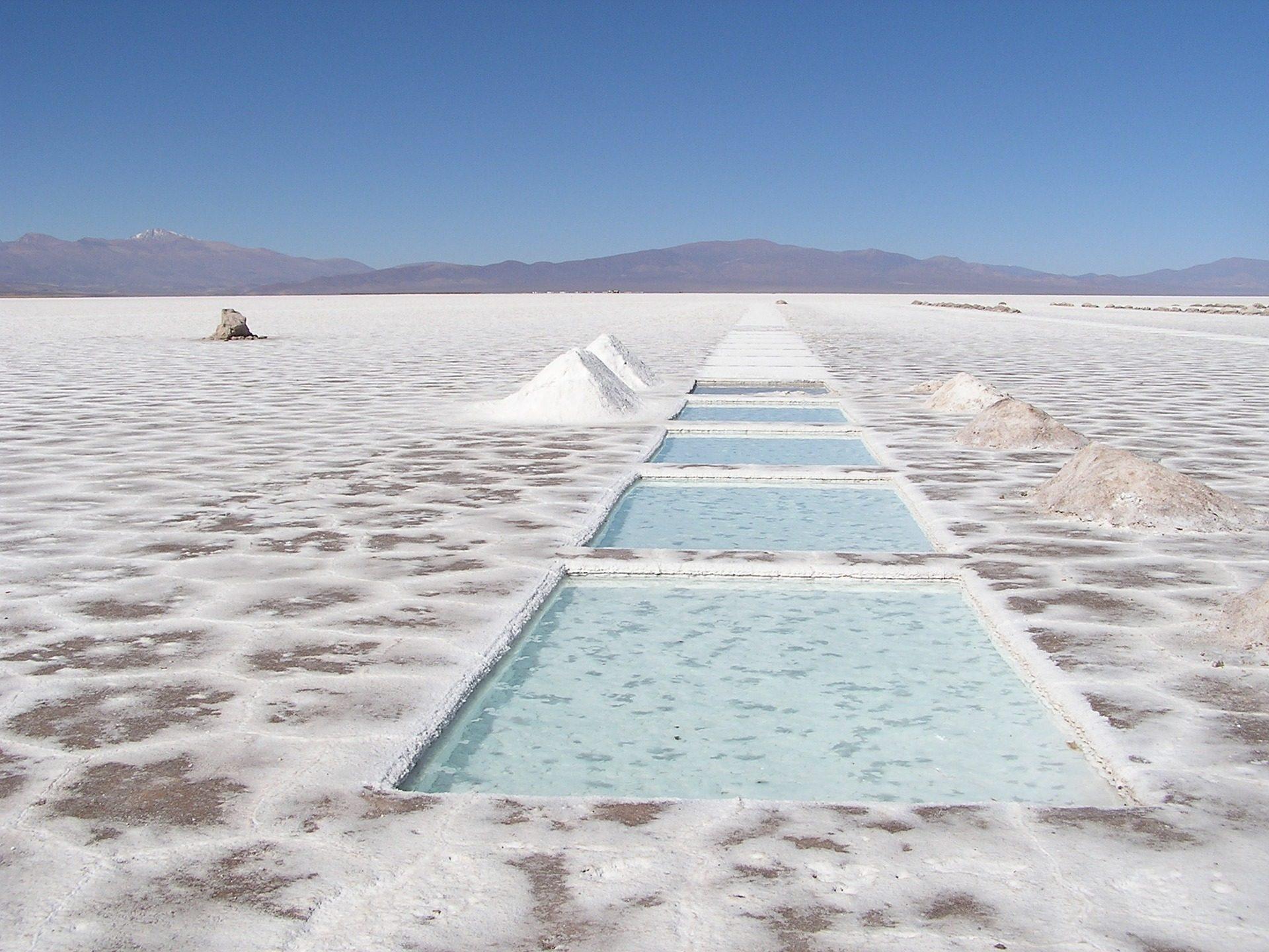 صحراء, عادي, سالينا, بحيرة, الملح, الجبال, الأرجنتين - خلفيات عالية الدقة - أستاذ falken.com