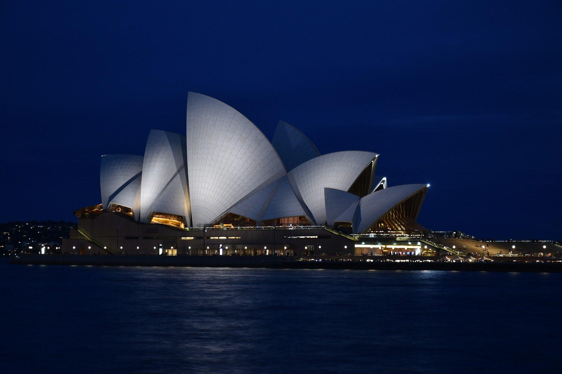 здание, Архитектура, Роман, Опера, Сидней, Австралия - Обои HD - Профессор falken.com
