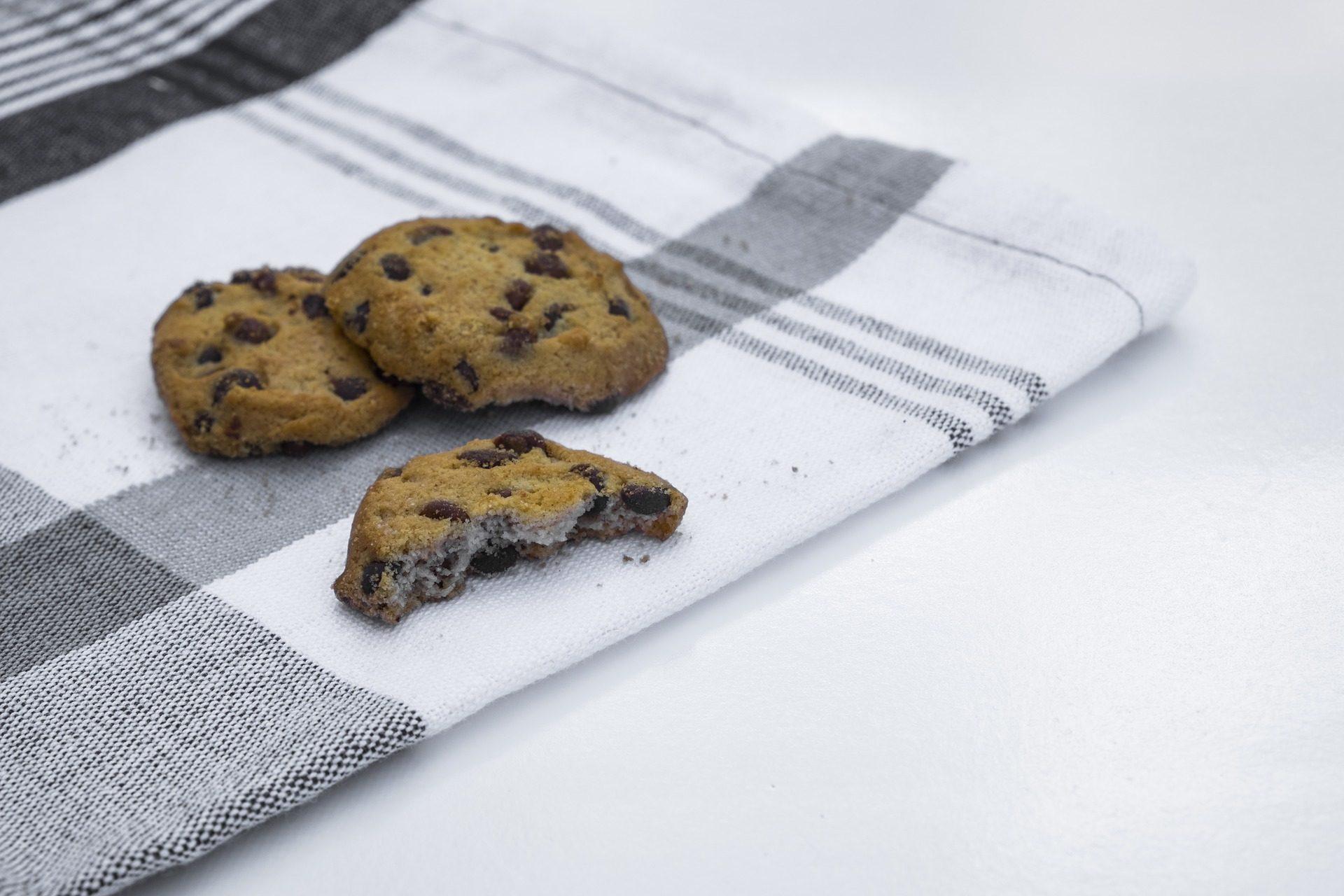 饼干, 餐巾, 布, 桌布, 一半, 巧克力 - 高清壁纸 - 教授-falken.com
