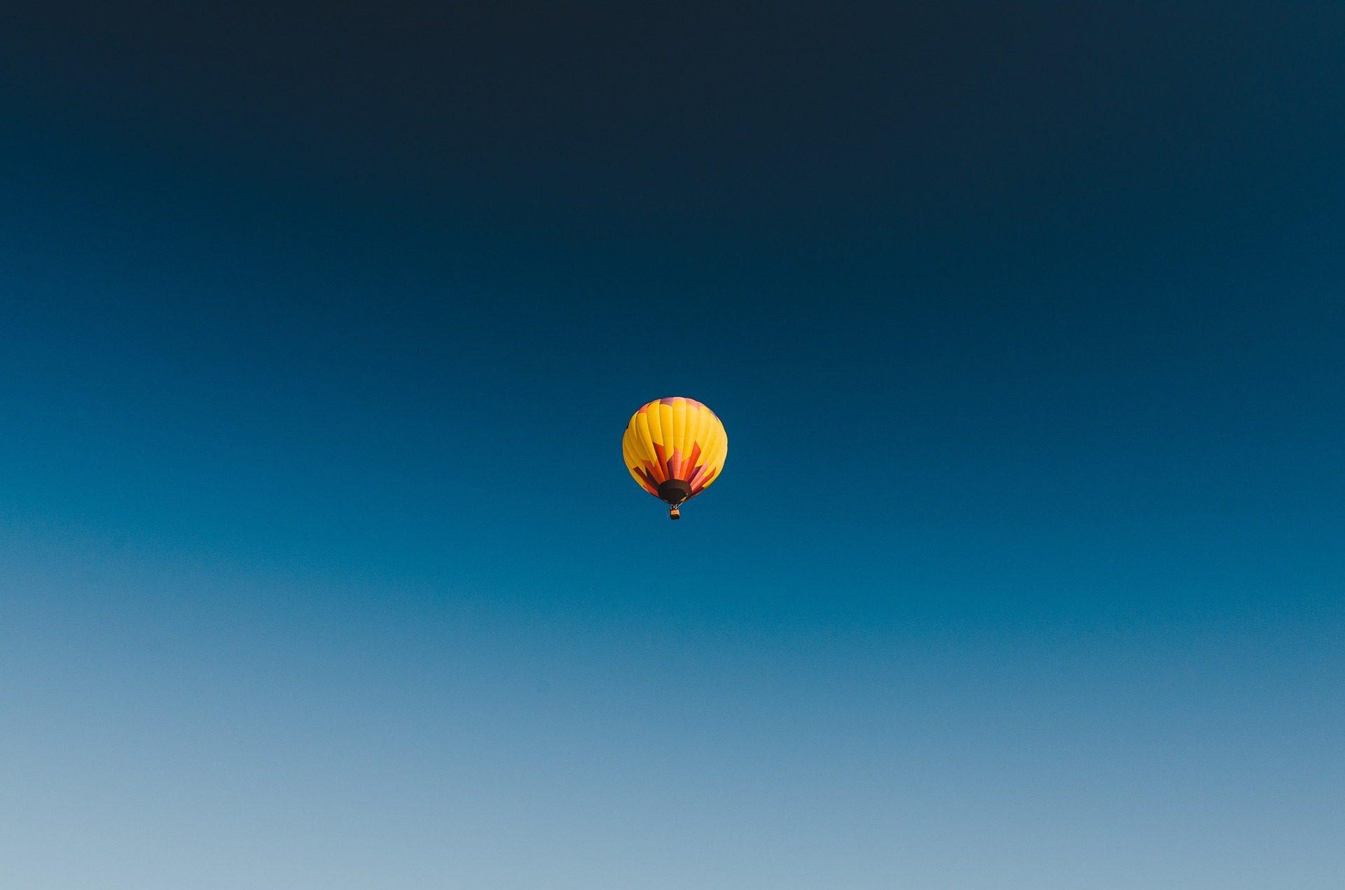 balão, balão de ar, Céu, alturas, voar - Papéis de parede HD - Professor-falken.com