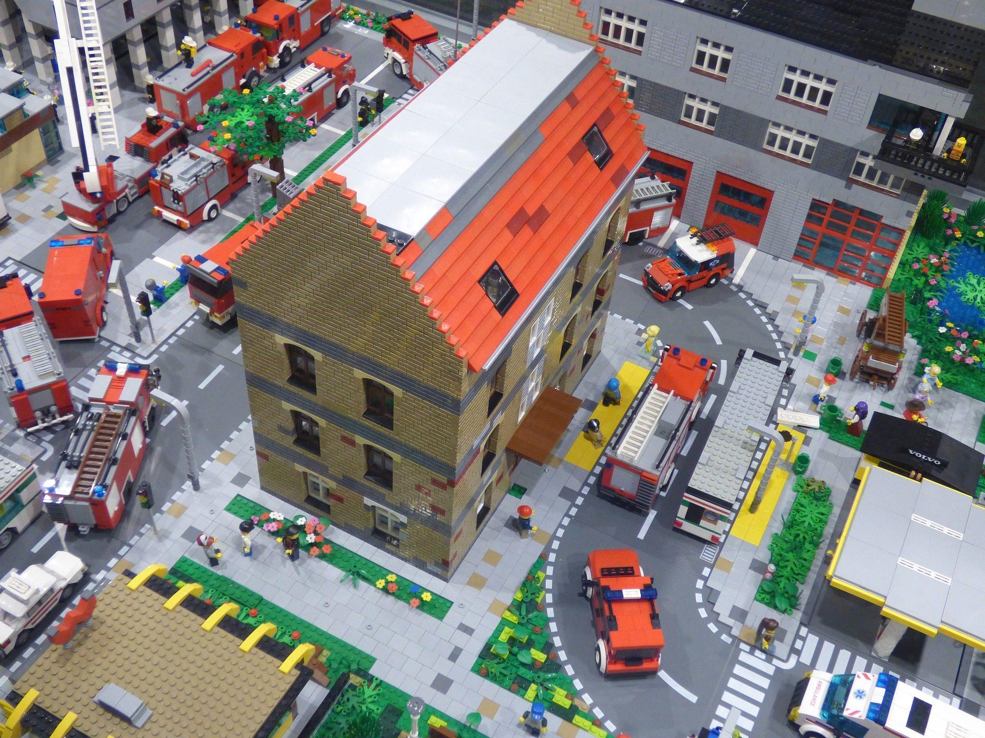 おもちゃ, 建設, 人形, 車, 家, ブロック, レゴ - HD の壁紙 - 教授-falken.com