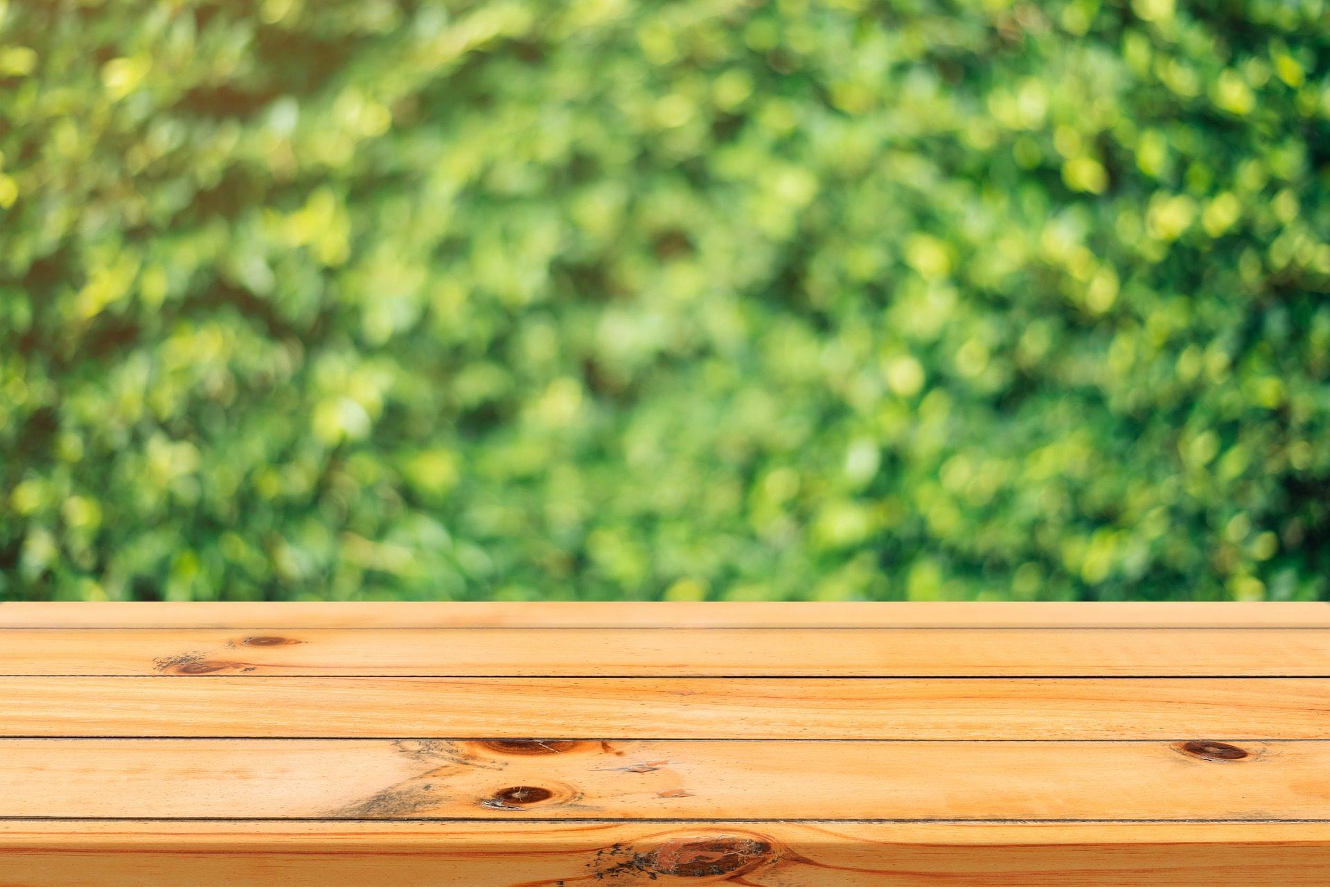 madeira, suporte, tabela, Jardim, plantas, Seto - Papéis de parede HD - Professor-falken.com