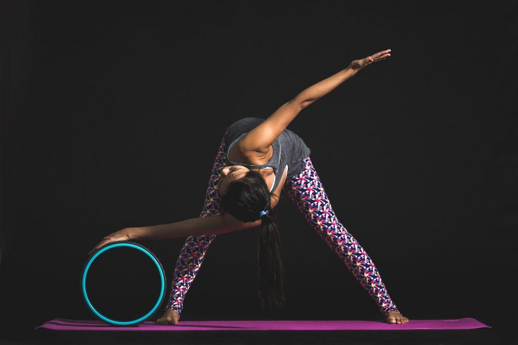 mujer, ejercicio, deporte, yoga, postura, 1712292109
