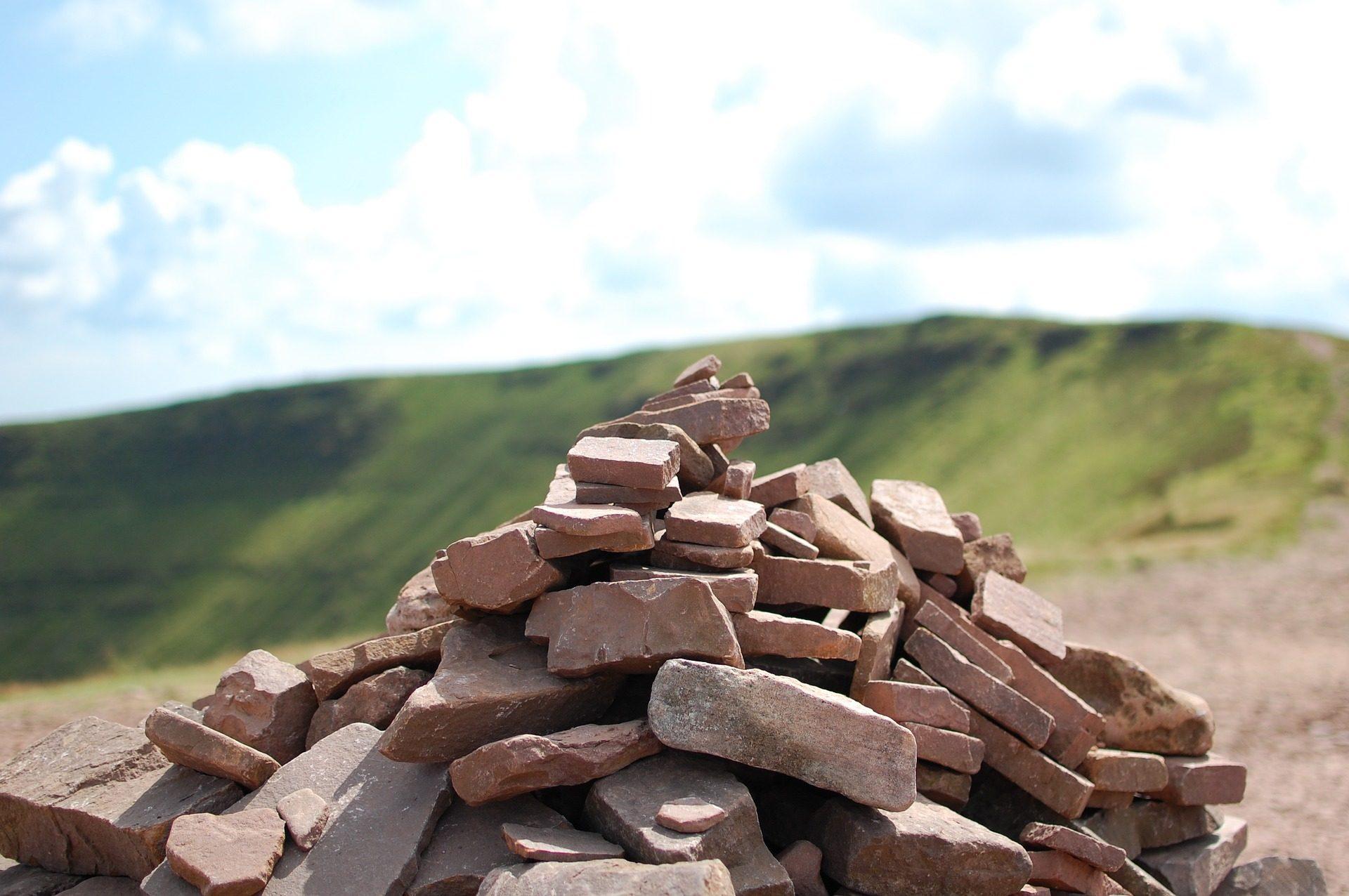 pietre, Rocas, sacco, Acumulación, campo - Sfondi HD - Professor-falken.com