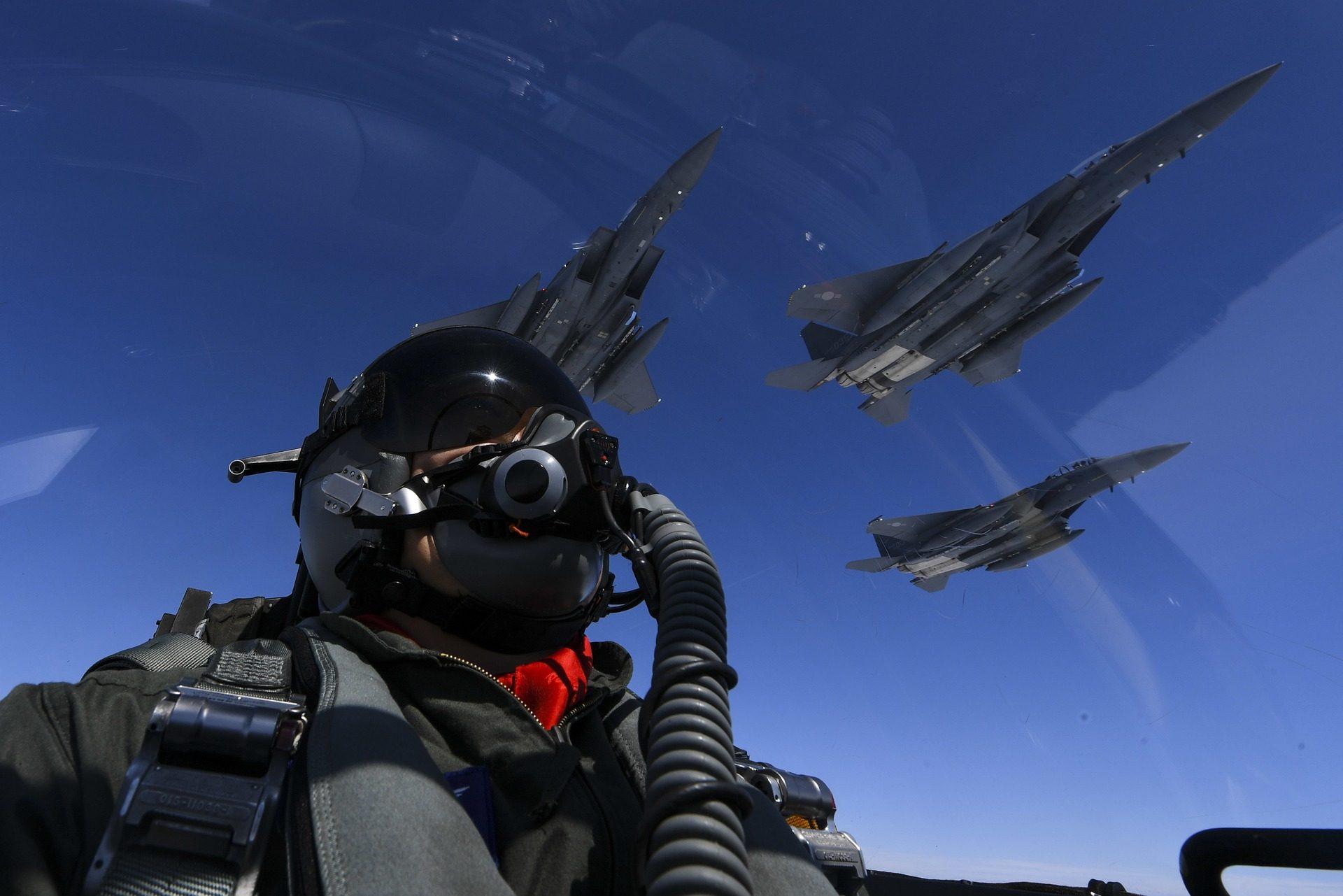 piloto, aviões, lutadores, cabine, f-15 - Papéis de parede HD - Professor-falken.com
