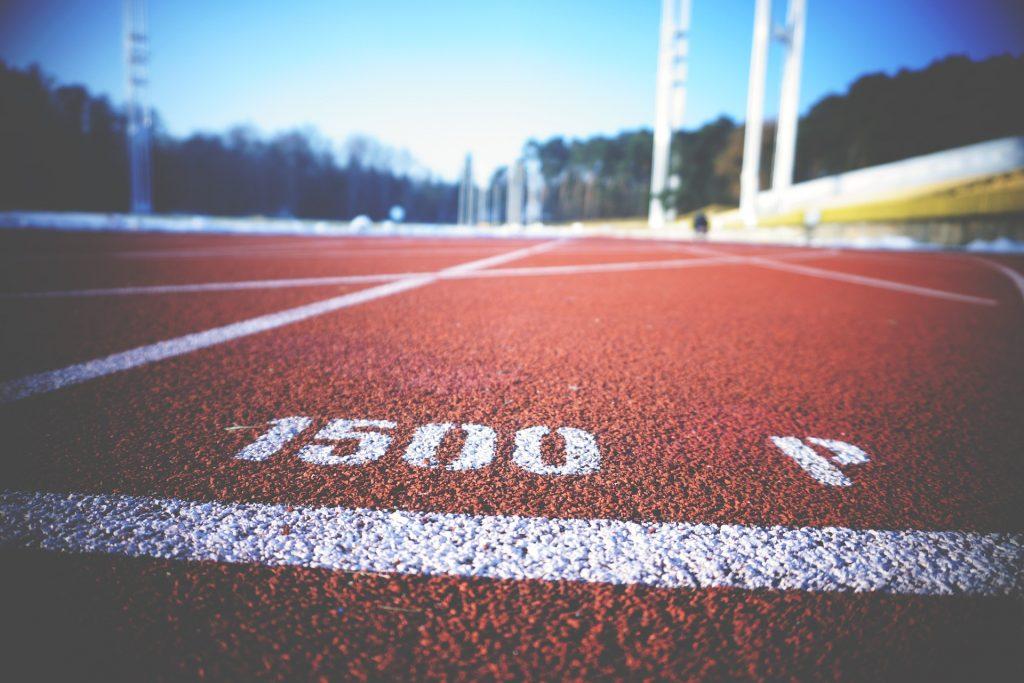 pista, atletismo, marca, señal, competición, 1712111144
