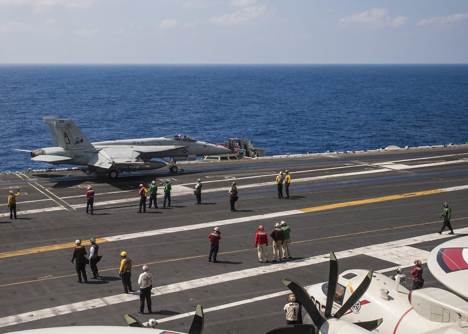 αεροπλανοφόρο, αεροσκάφη, φορείς εκμετάλλευσης, Πολεμικό Ναυτικό, μαχητής - Wallpapers HD - Professor-falken.com