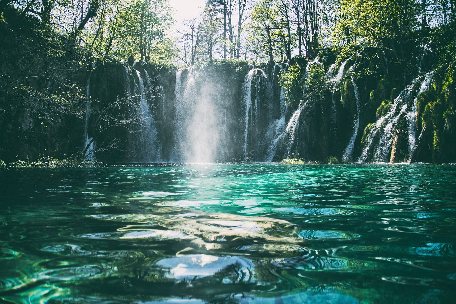 Рио, Водопад, Водопады, лес, водохранилище, Плот, воды - Обои HD - Профессор falken.com