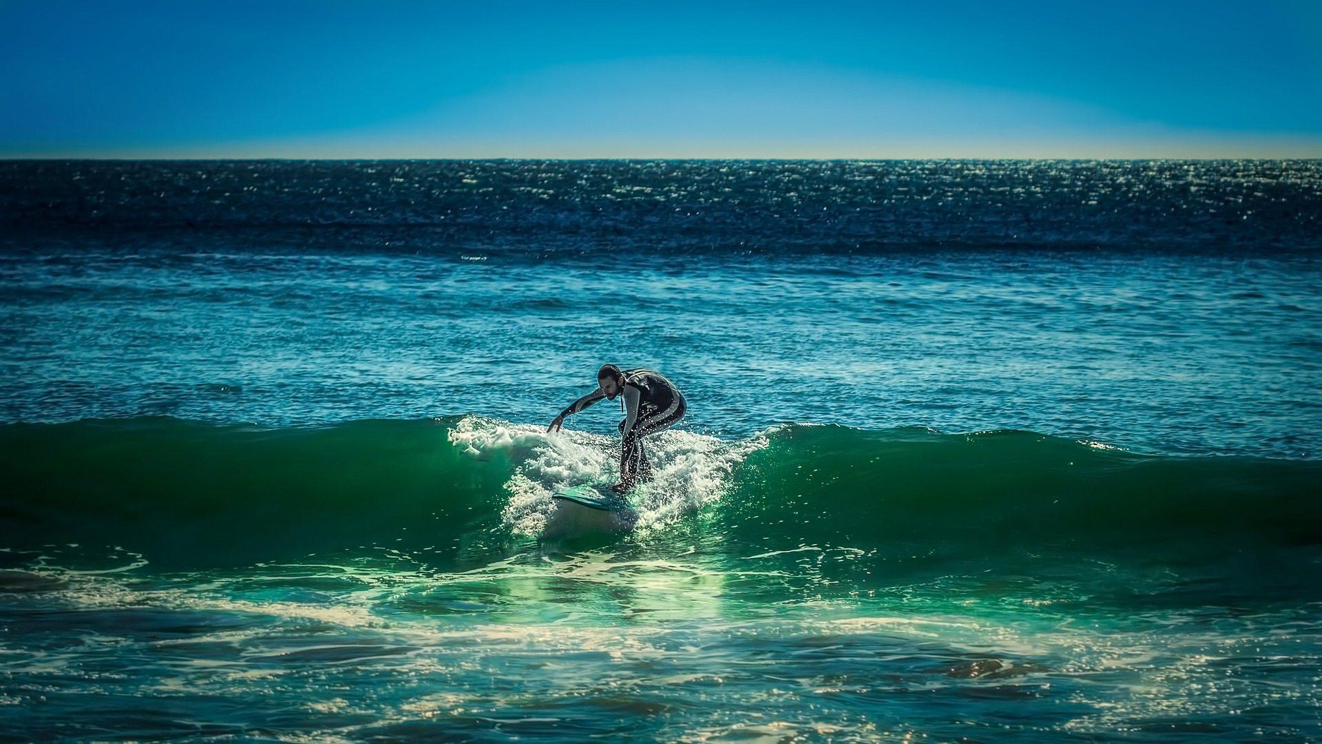 سيرفر, تصفح, الشاطئ, موجات, البحر - خلفيات عالية الدقة - أستاذ falken.com