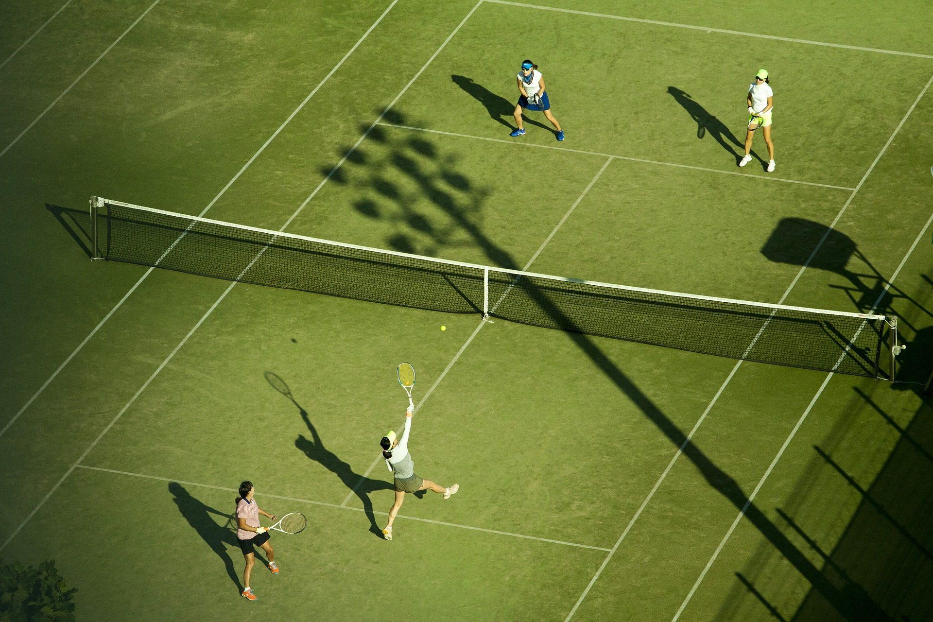 tenis, partido, campo, parejas, campeonato - Fondos de Pantalla HD - professor-falken.com