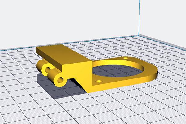 जावक या हवा में भागों के साथ मुद्रण Ultimaker इलाज 3 डी भागों को विन्यस्त करने के लिए कैसे