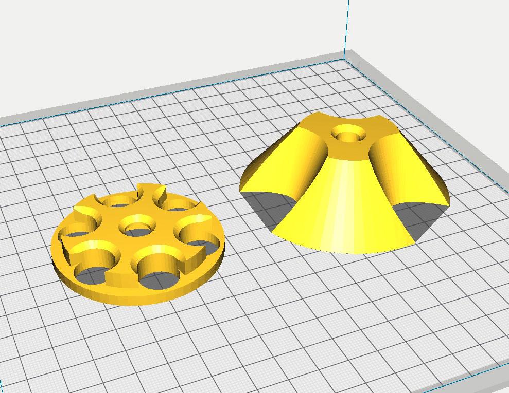 Porte-bobine, ou adaptateur pour bobines, filament