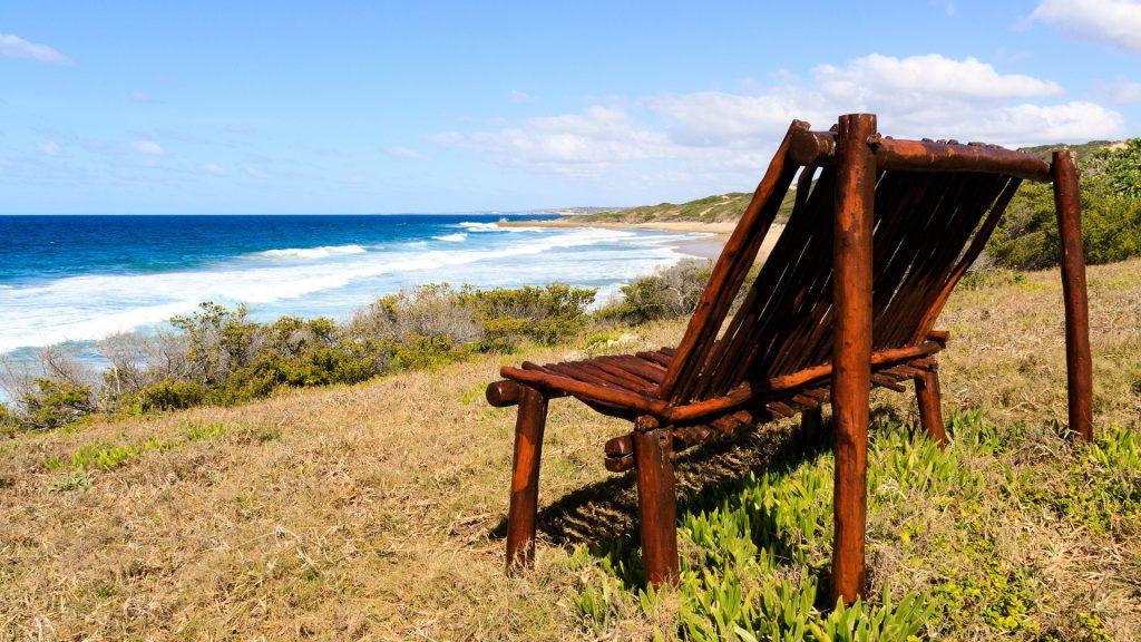銀行, 座席, ビーチ, 海, 地平線, リラックス, 1801202354