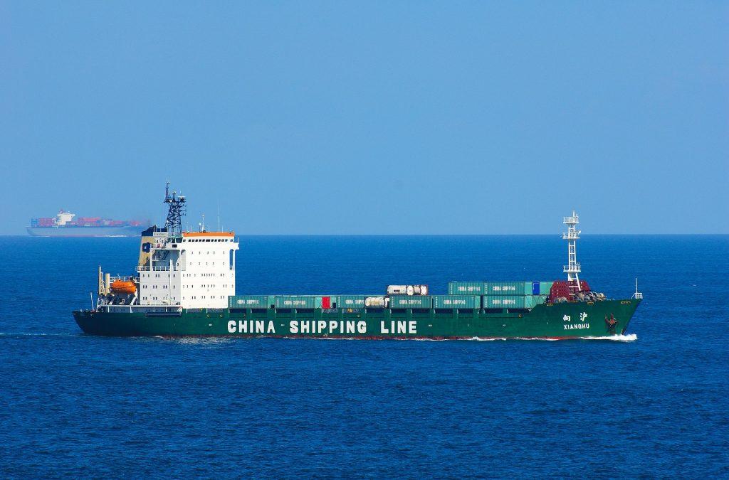 小船, 货船, 商业, 导入, 海, 1801071941