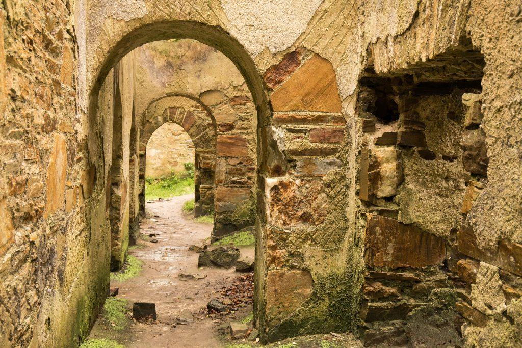 城堡, 通道, 废墟, 被遗弃, 奇石, 1801070800