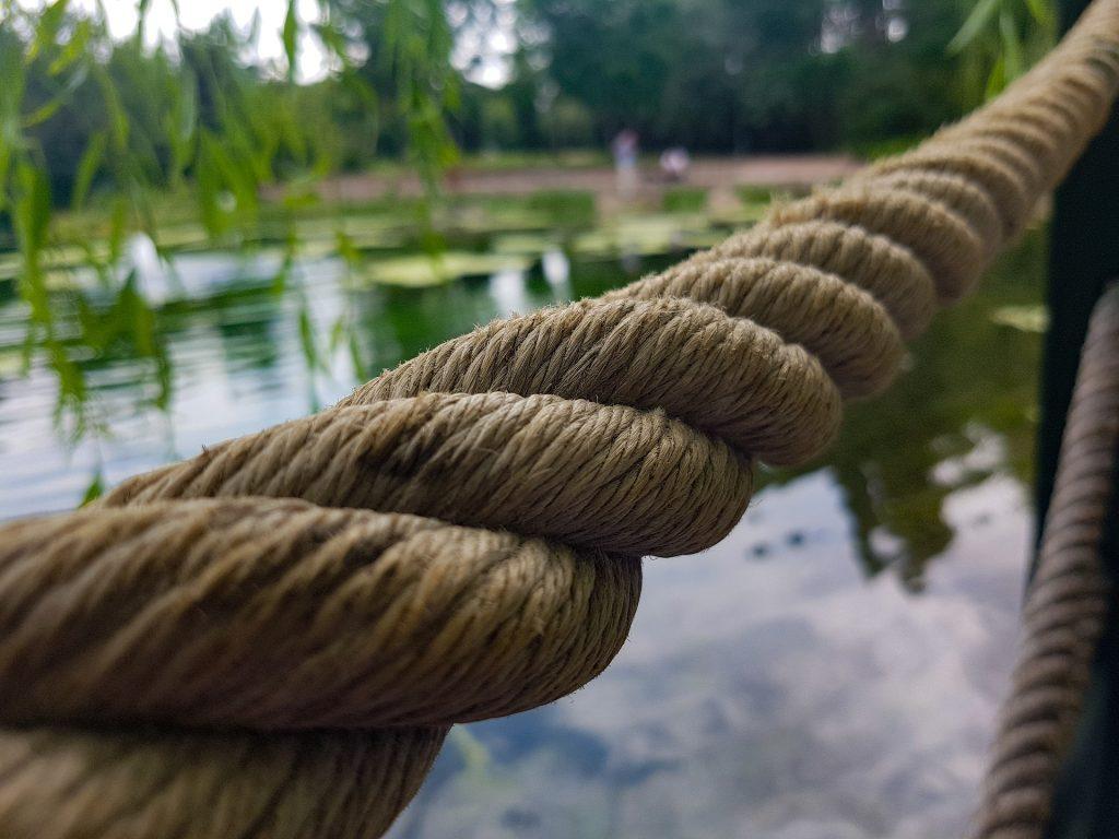 cuerda, soga, amarre, embarcadero, lago, agua, 1801181058
