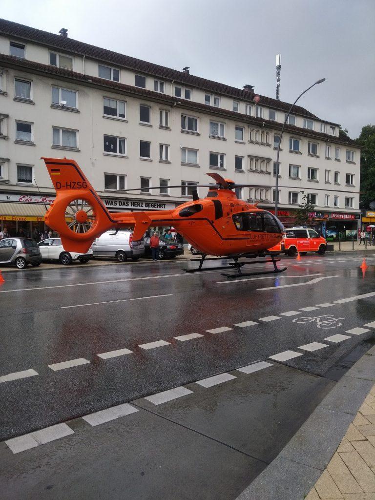 直升机, salvamento, 救援, 沥青, 建筑, 1801061712
