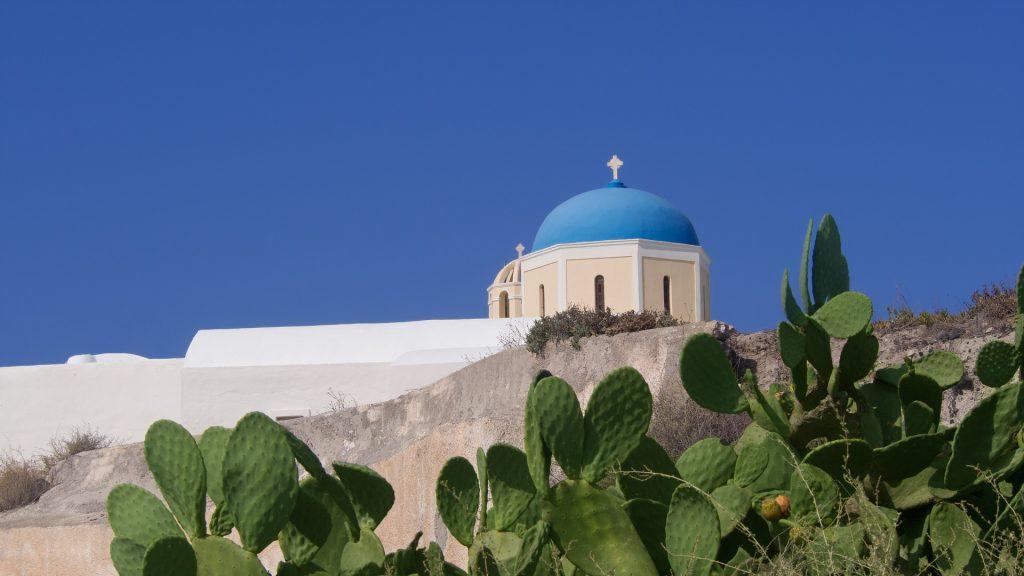 教会, 教堂, 宗教, 仙人掌, 圣托里尼岛, 希腊, 1801020814
