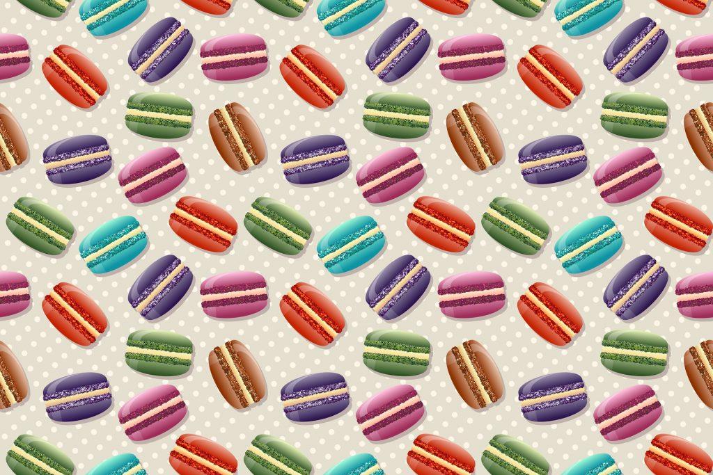 macarrones, colorido, patrón, puntos, repetición, 1801210855