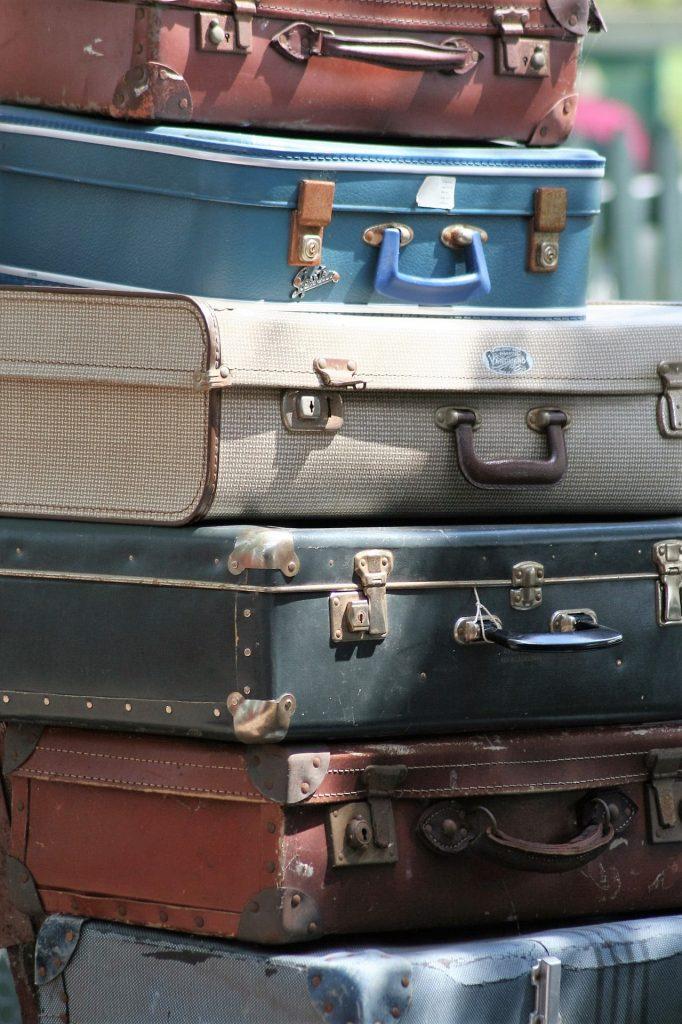 maletas, 行李, 堆积, 古代, 年份, 1801101732