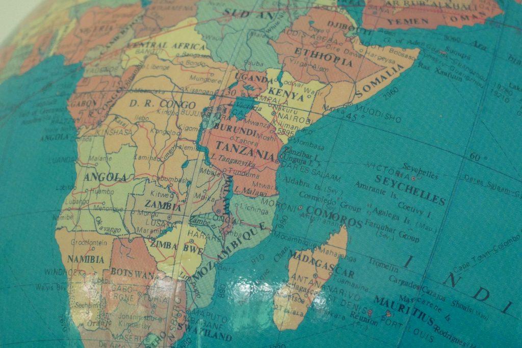 地図, バルーン, terráqueo, 国, アフリカ, 1801201439