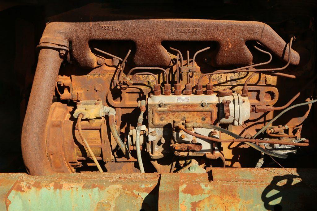 エンジン, antiguo, さびた古いjo, 汚い, 1801201158